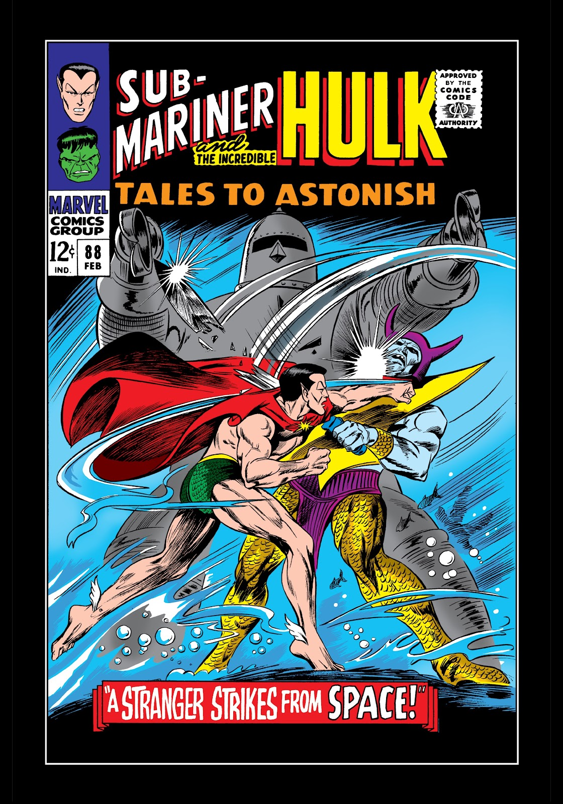 Read online Marvel Masterworks: The Incredible Hulk comic -  Issue # TPB 3 (Part 1) - 95