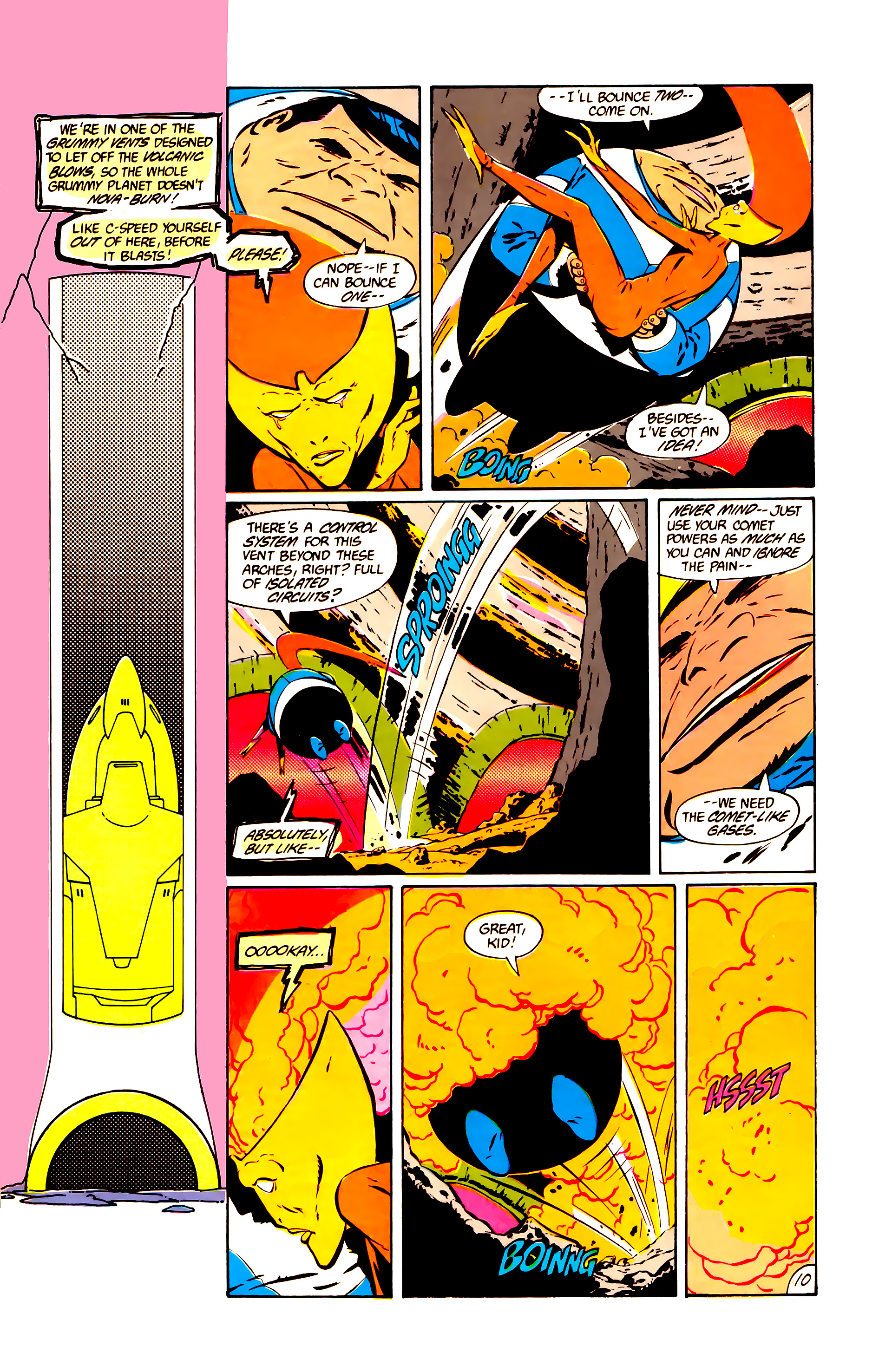 Legion of Super-Heroes (1984) 11 Page 23