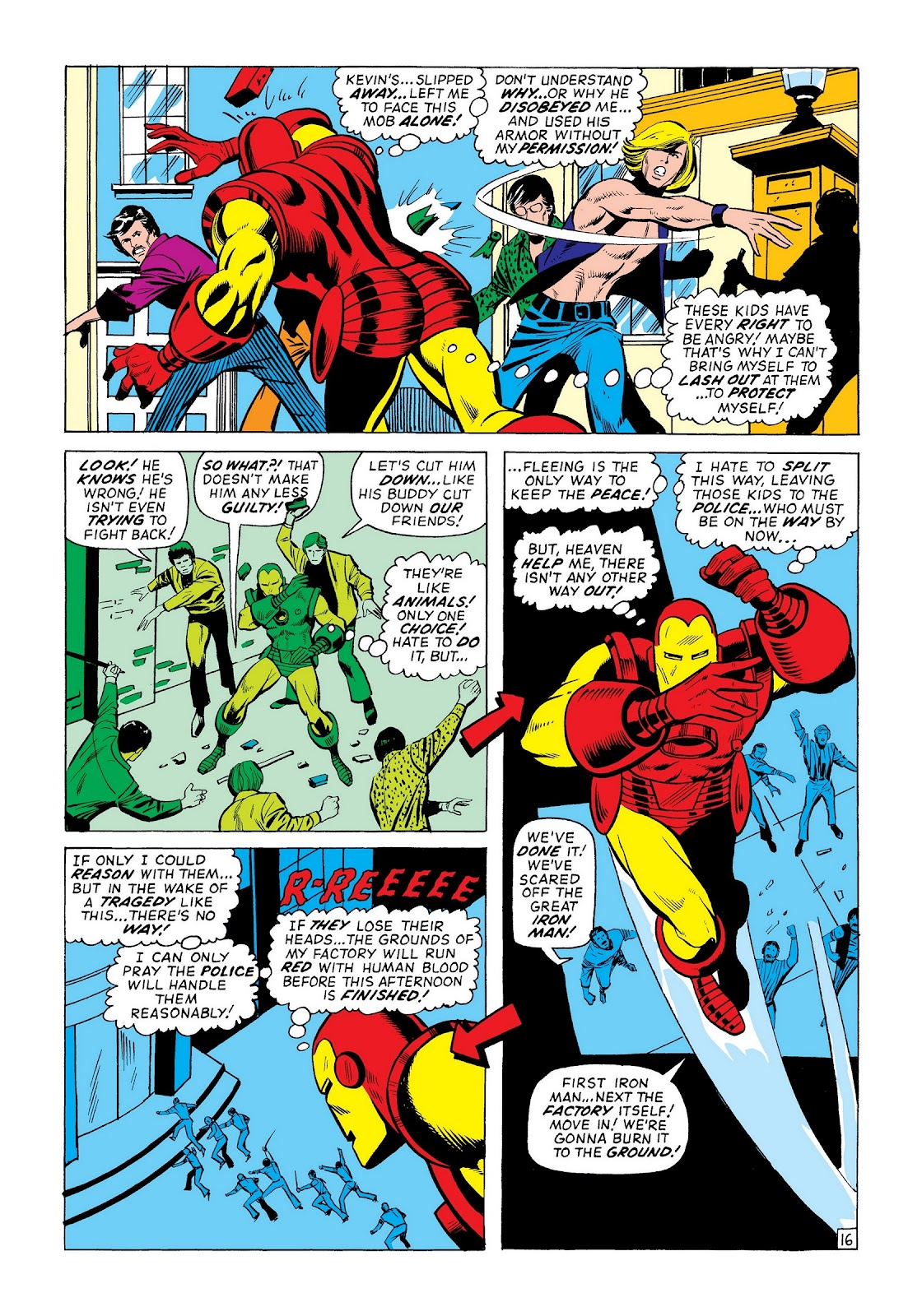 Read online Marvel Masterworks: The Invincible Iron Man comic -  Issue # TPB 8 (Part 2) - 38