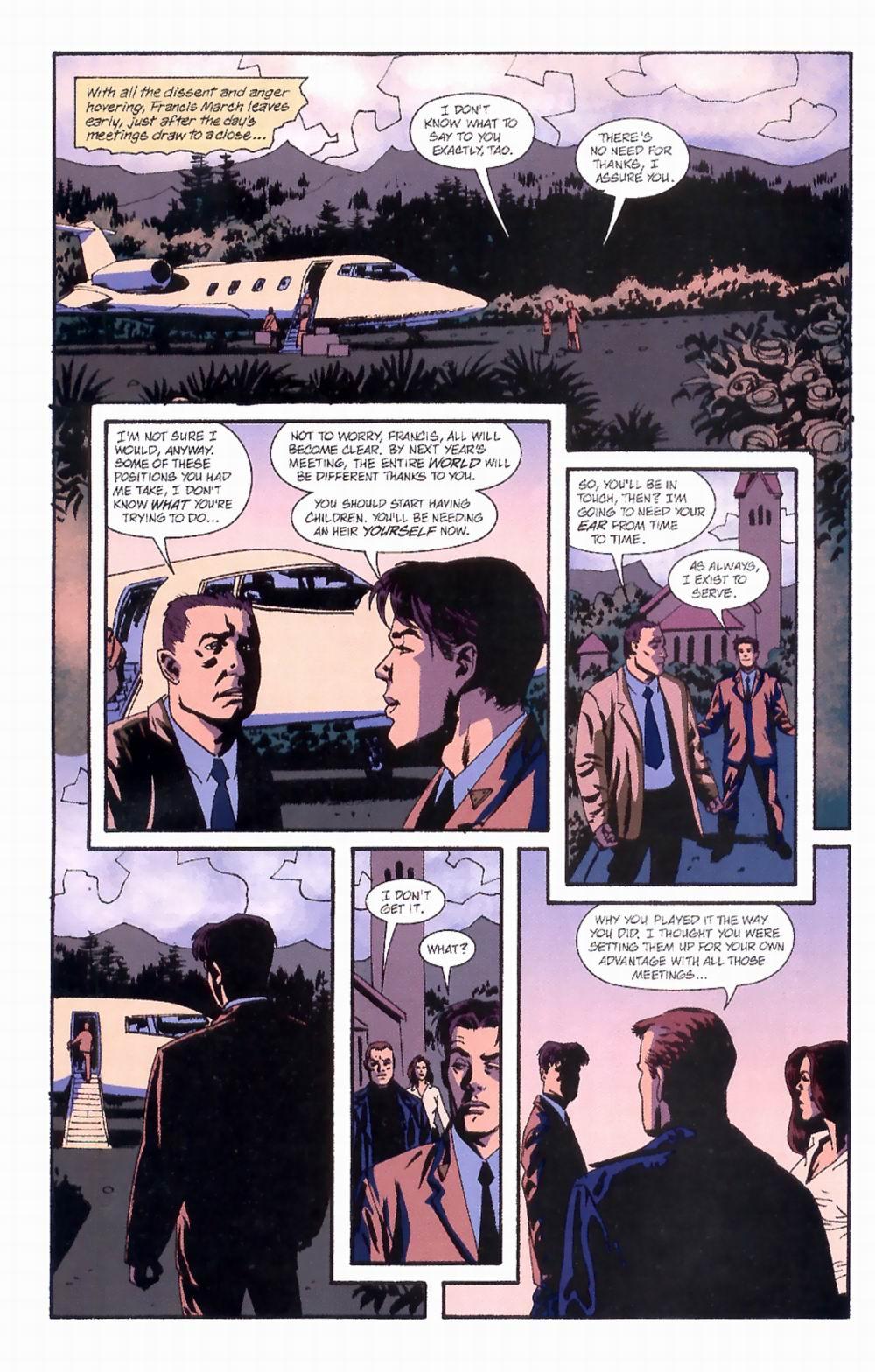 Read online Sleeper comic -  Issue #4 - 22