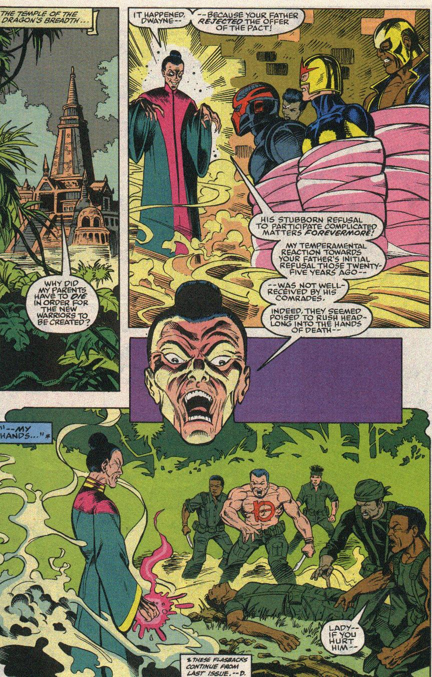 The New Warriors Issue #24 #28 - English 12