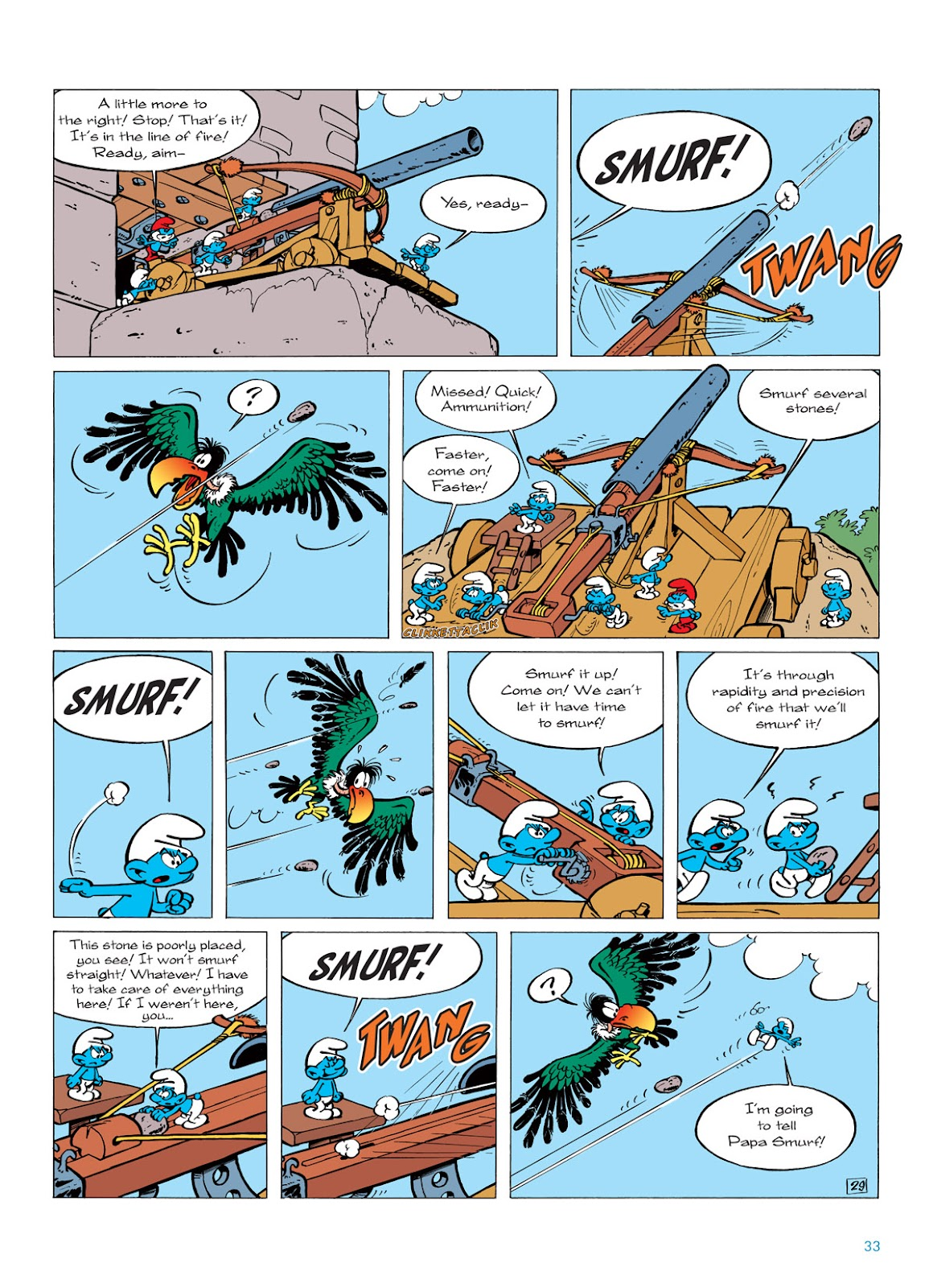 Read online The Smurfs comic -  Issue #6 - 33