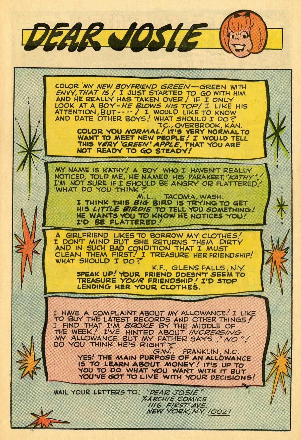 Read online She's Josie comic -  Issue #31 - 11