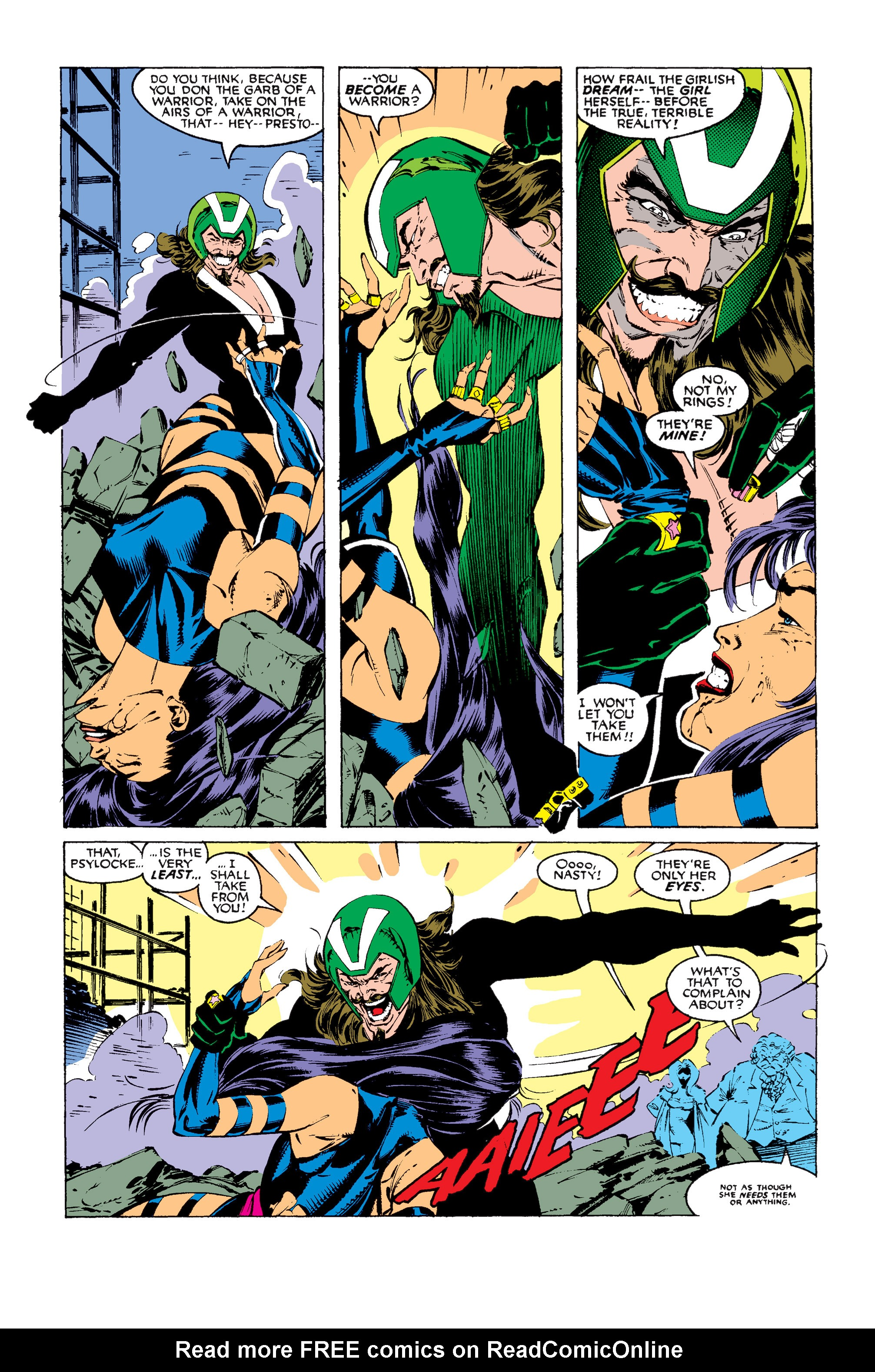 Read online Uncanny X-Men (1963) comic -  Issue #256 - 21