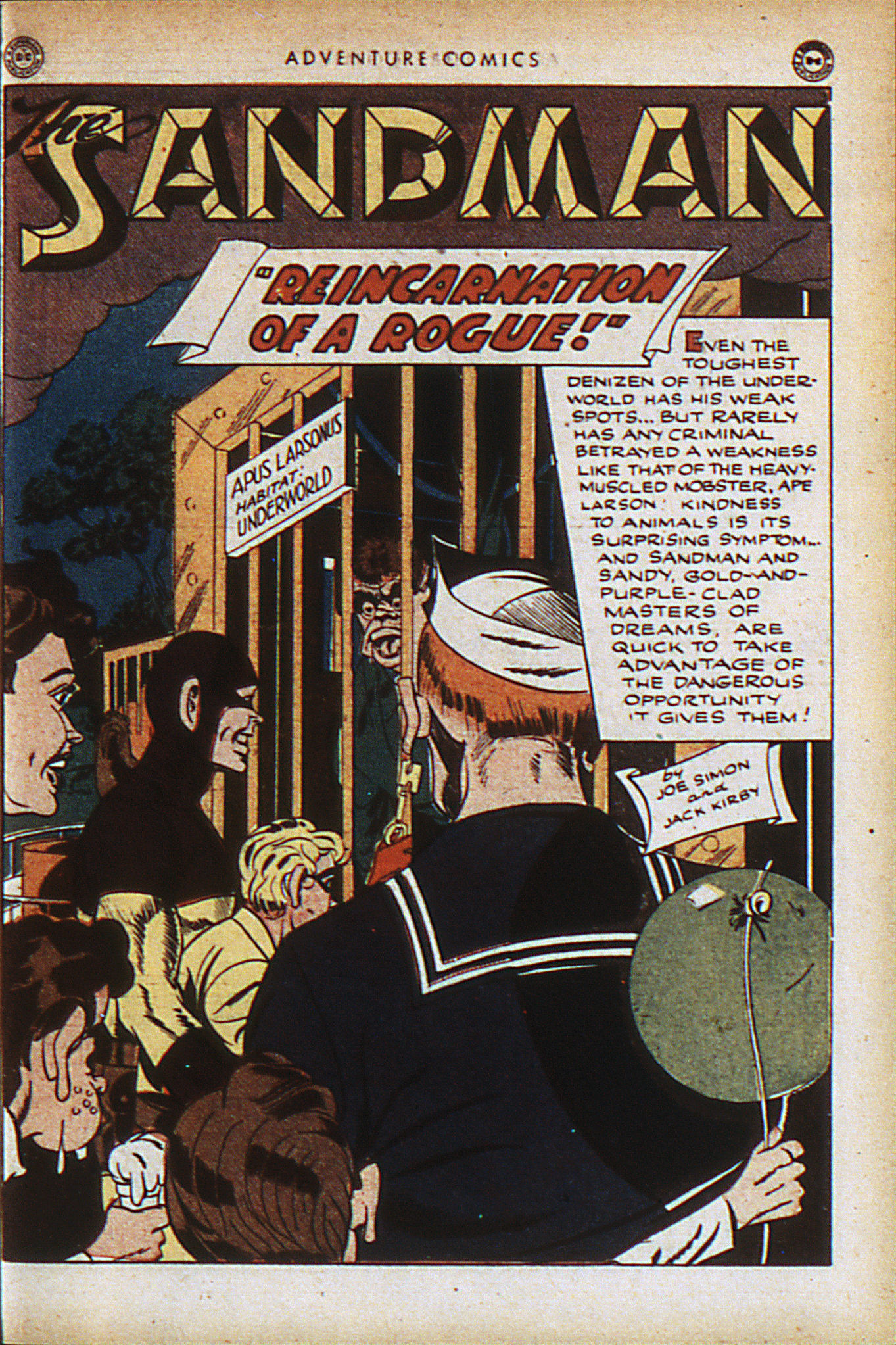 Read online Adventure Comics (1938) comic -  Issue #94 - 4