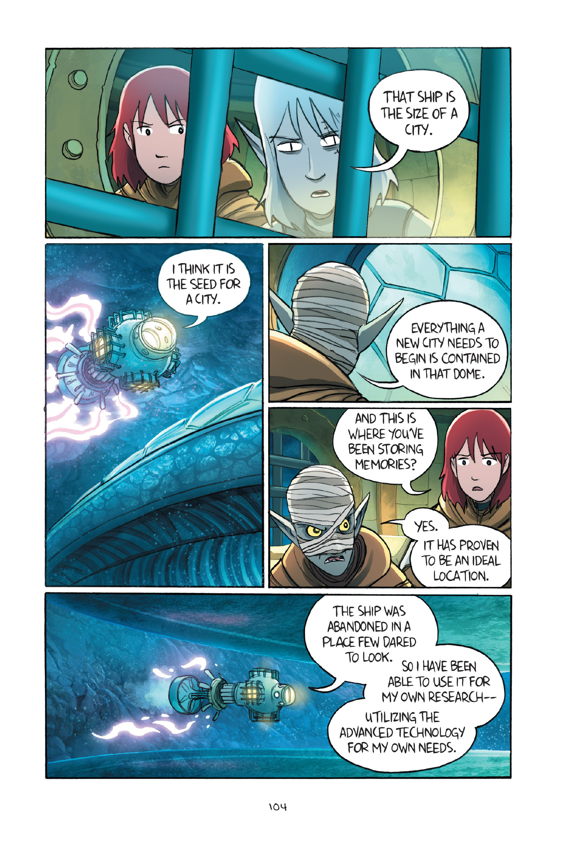 Read online Amulet comic -  Issue #7 - 104