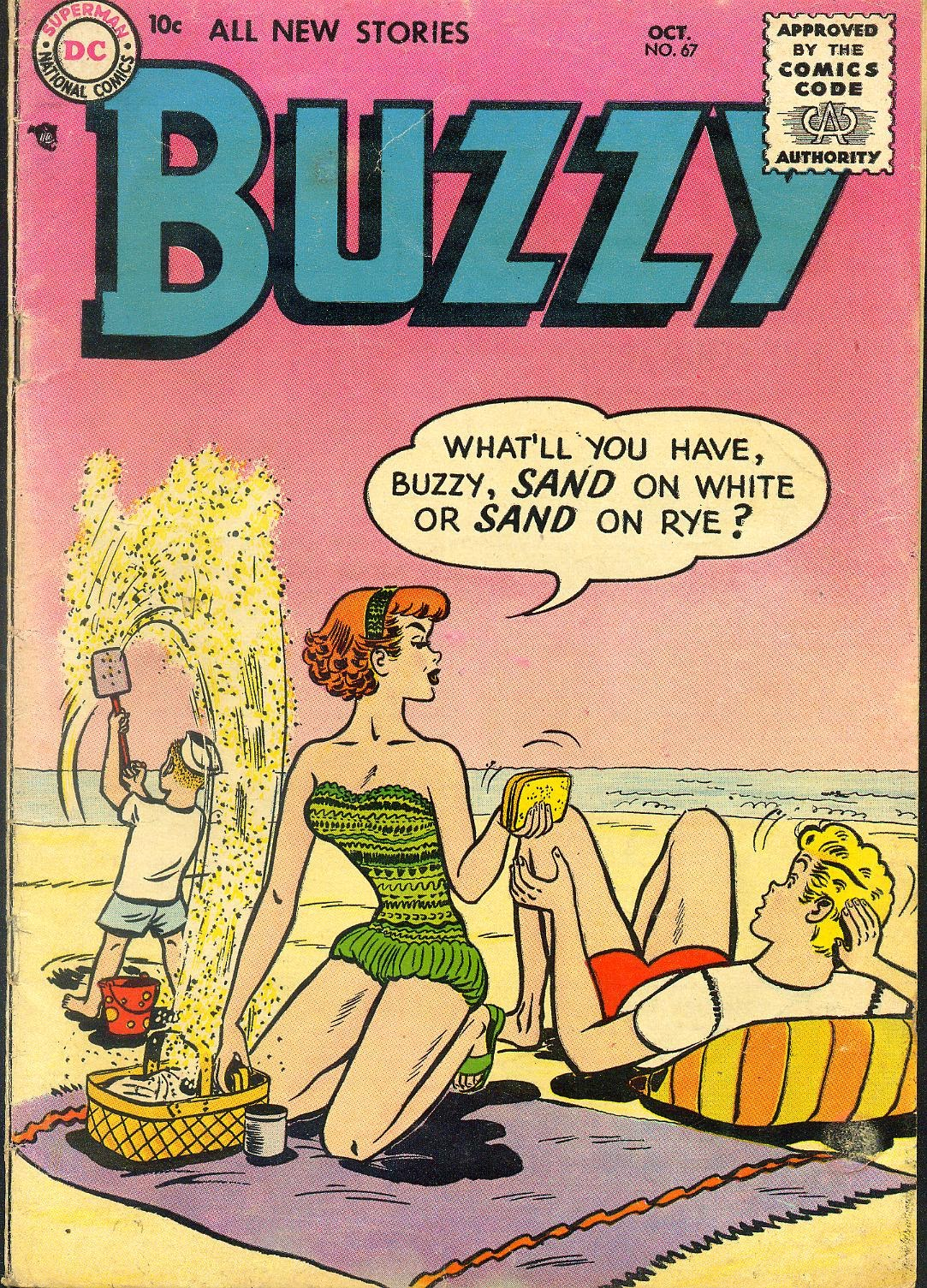 Buzzy issue 67 - Page 1