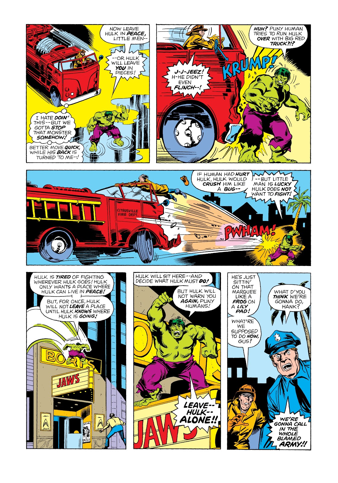 Read online Marvel Masterworks: The Incredible Hulk comic -  Issue # TPB 12 (Part 1) - 85