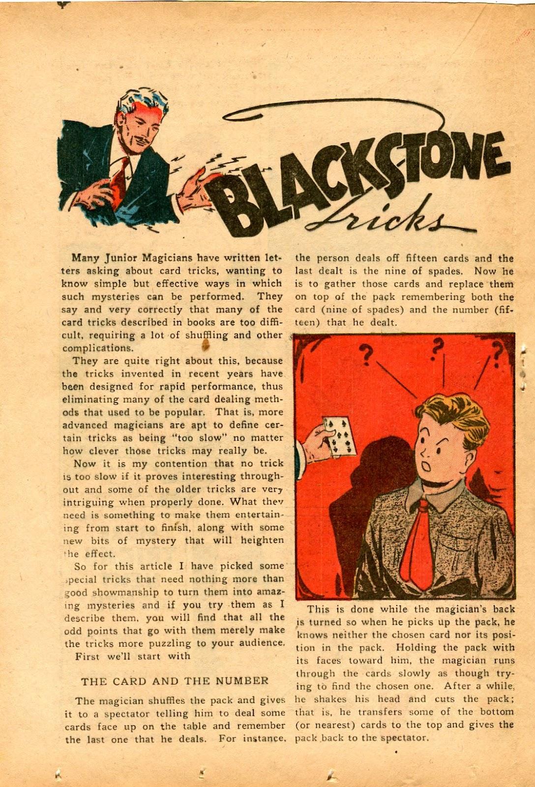 Read online Super-Magician Comics comic -  Issue #33 - 26