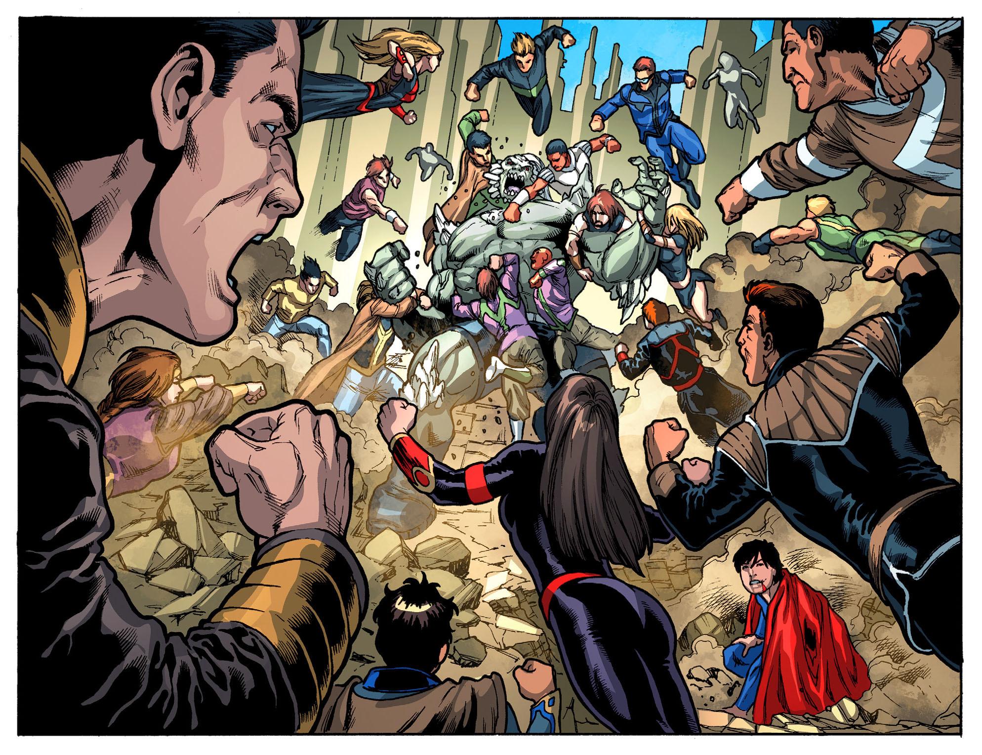 Read online Smallville: Season 11 comic -  Issue #52 - 18