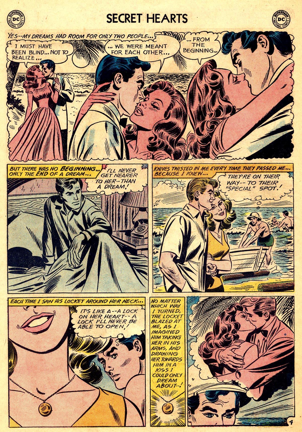Read online Secret Hearts comic -  Issue #92 - 30