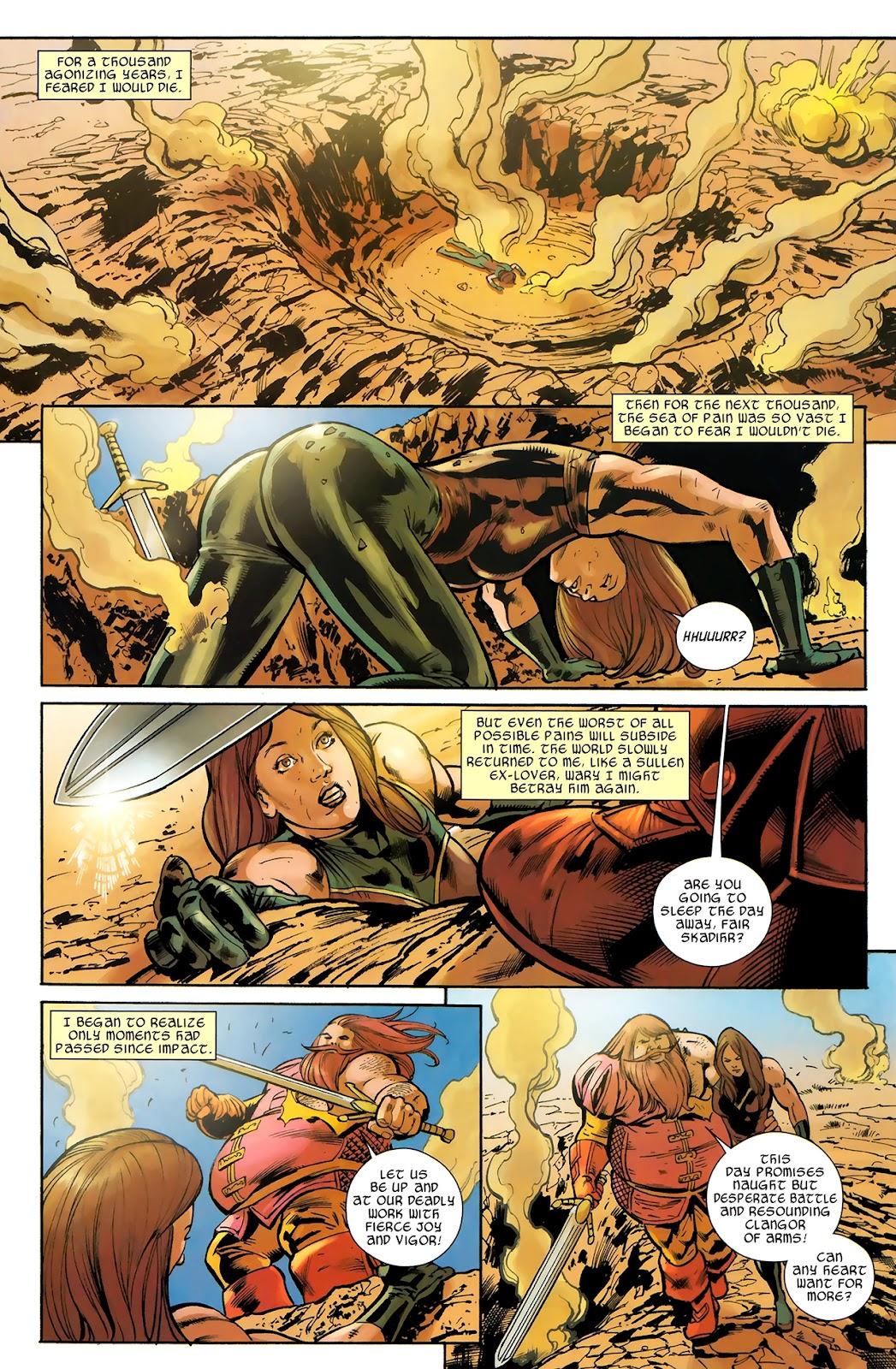 Warriors Three Issue #4 #4 - English 4