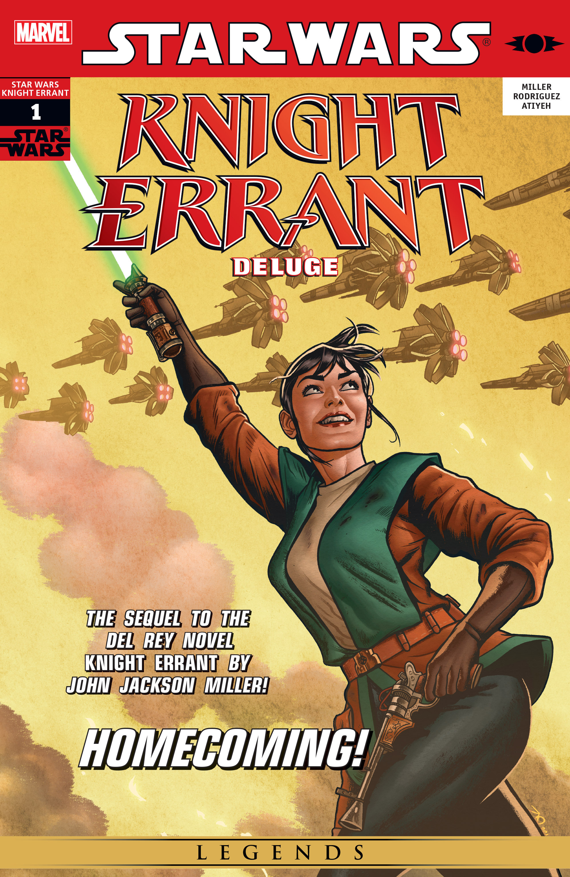 Read online Star Wars: Knight Errant - Deluge comic -  Issue #1 - 1