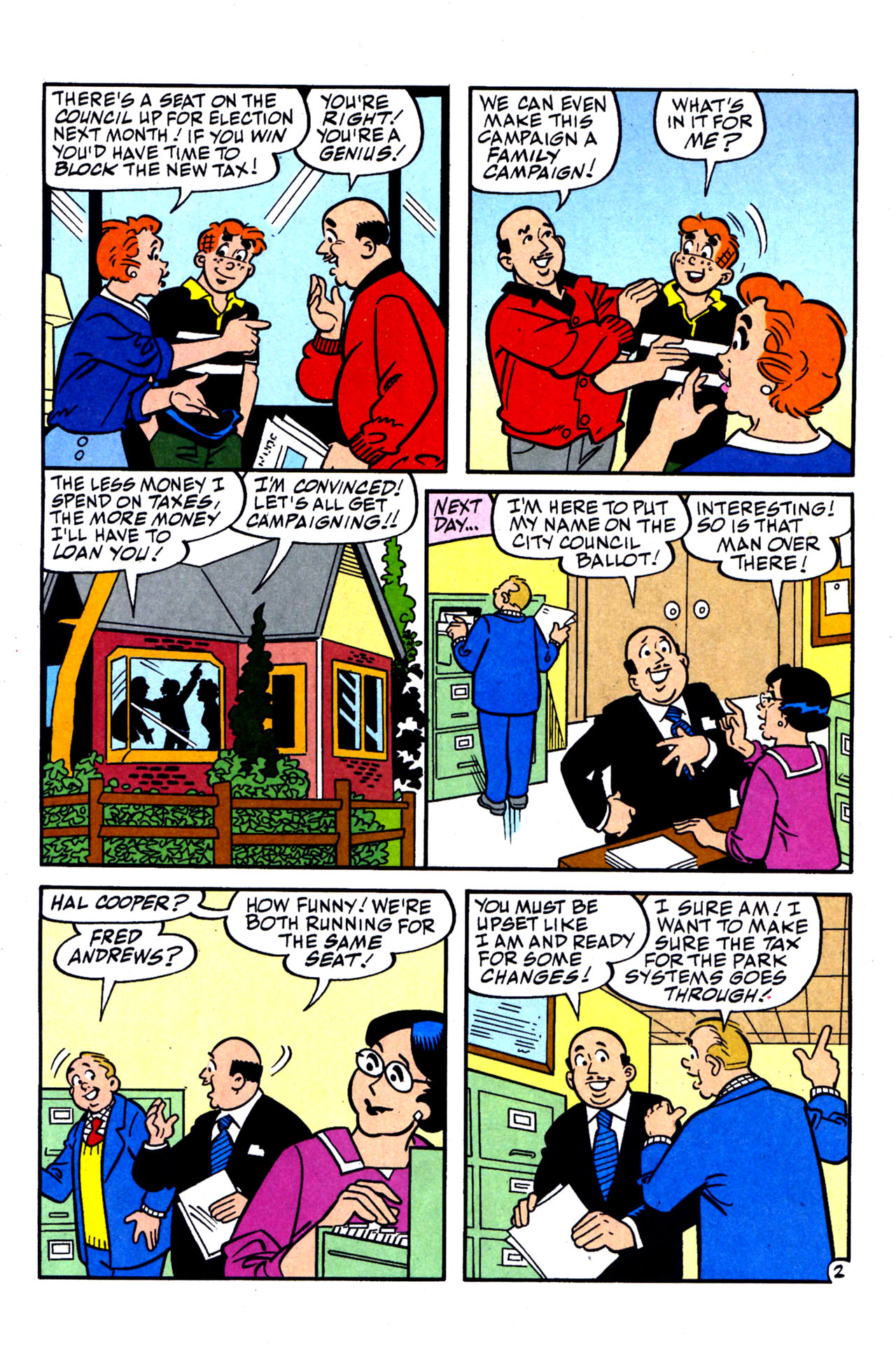Read online Archie (1960) comic -  Issue #578 - 9