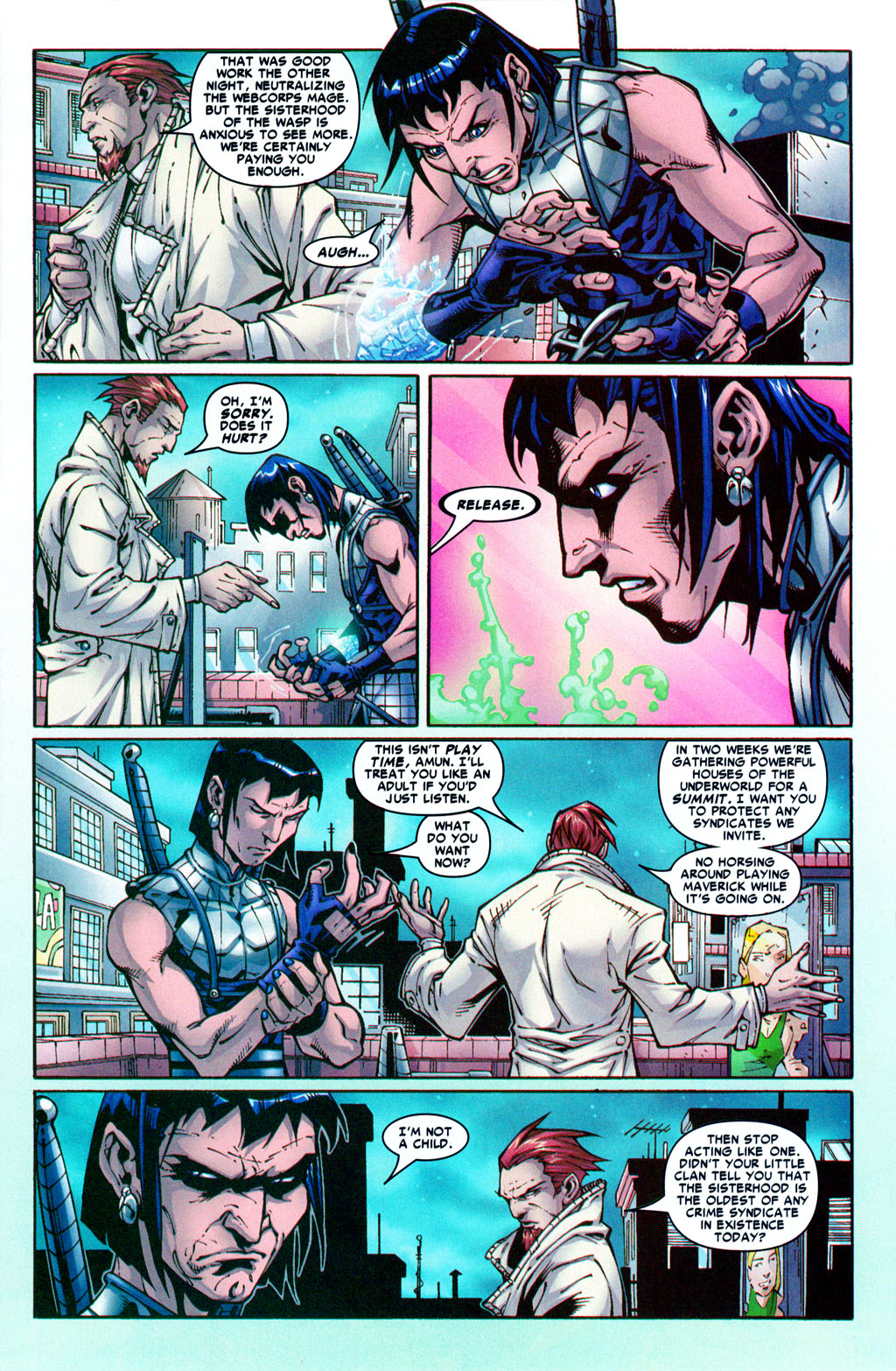 Read online Araña: Heart of the Spider comic -  Issue #5 - 7