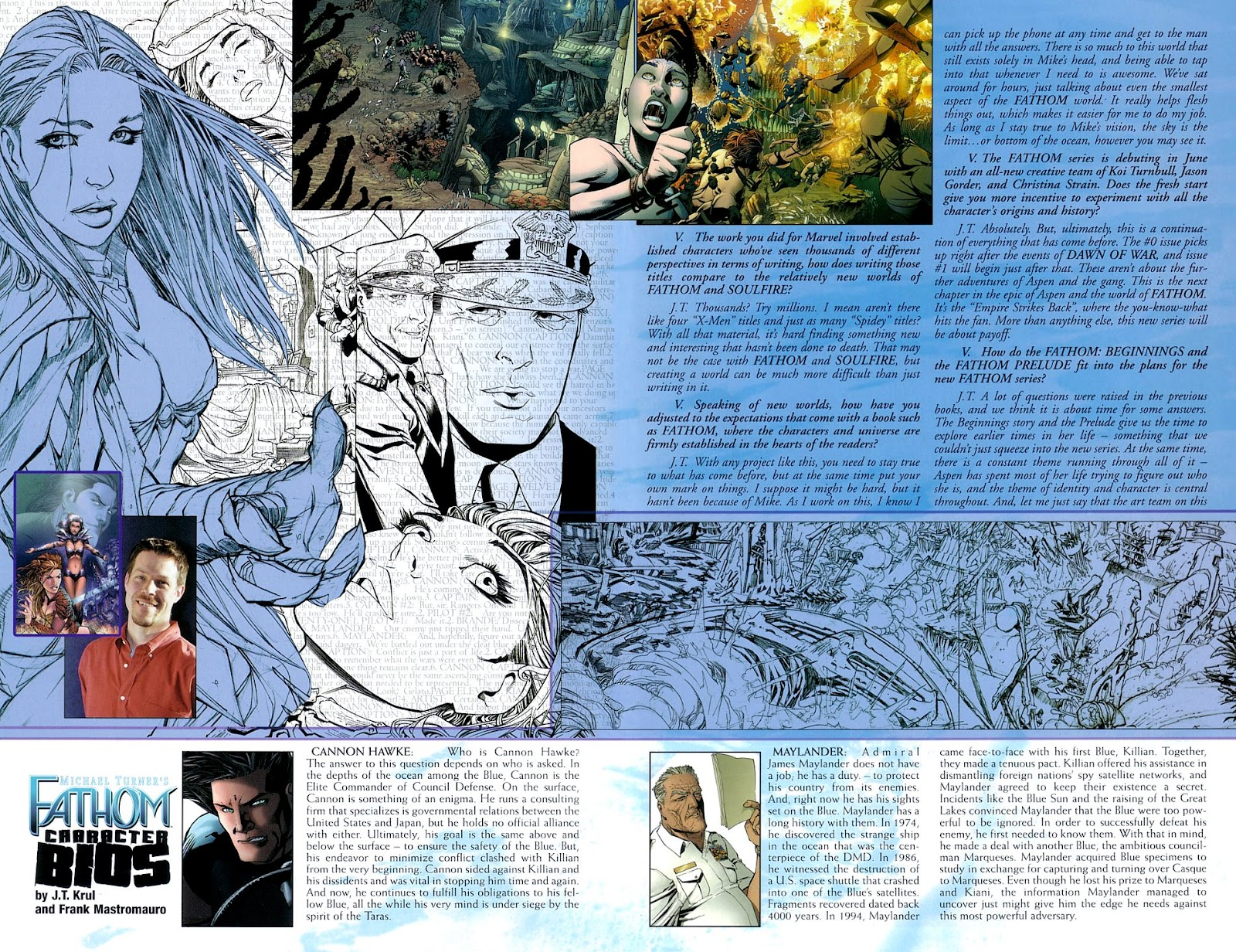 Read online Fathom Beginnings comic -  Issue # Full - 10