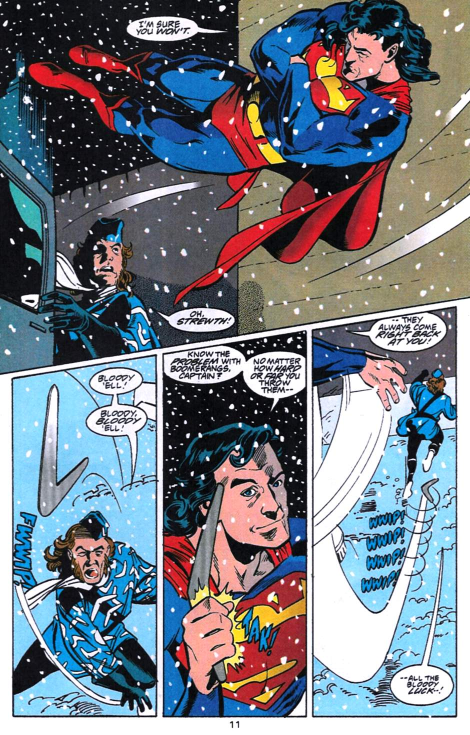 Read online Adventures of Superman (1987) comic -  Issue #520 - 12