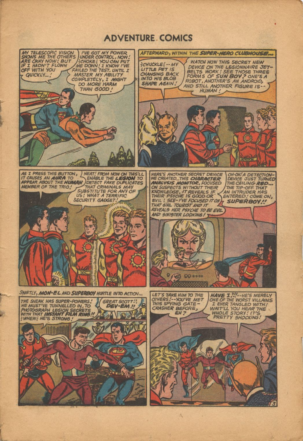 Read online Adventure Comics (1938) comic -  Issue #320 - 5
