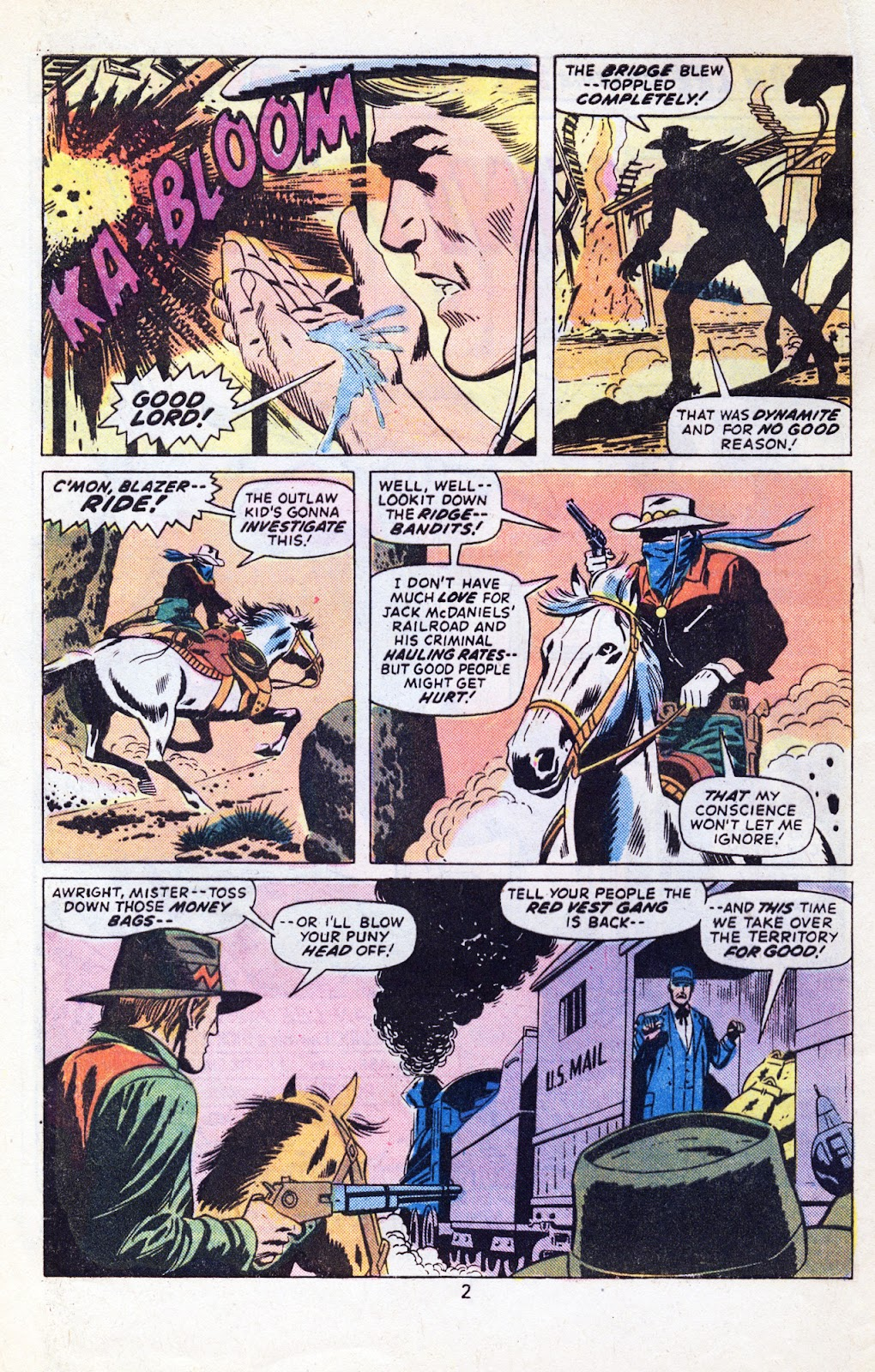 The Outlaw Kid (1970) issue 29 - Page 4
