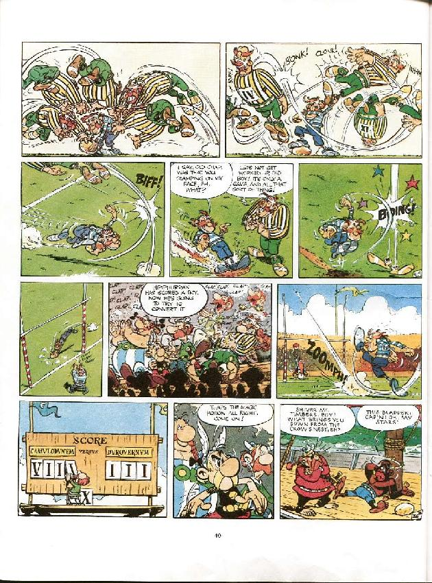Read online Asterix comic -  Issue #8 - 37