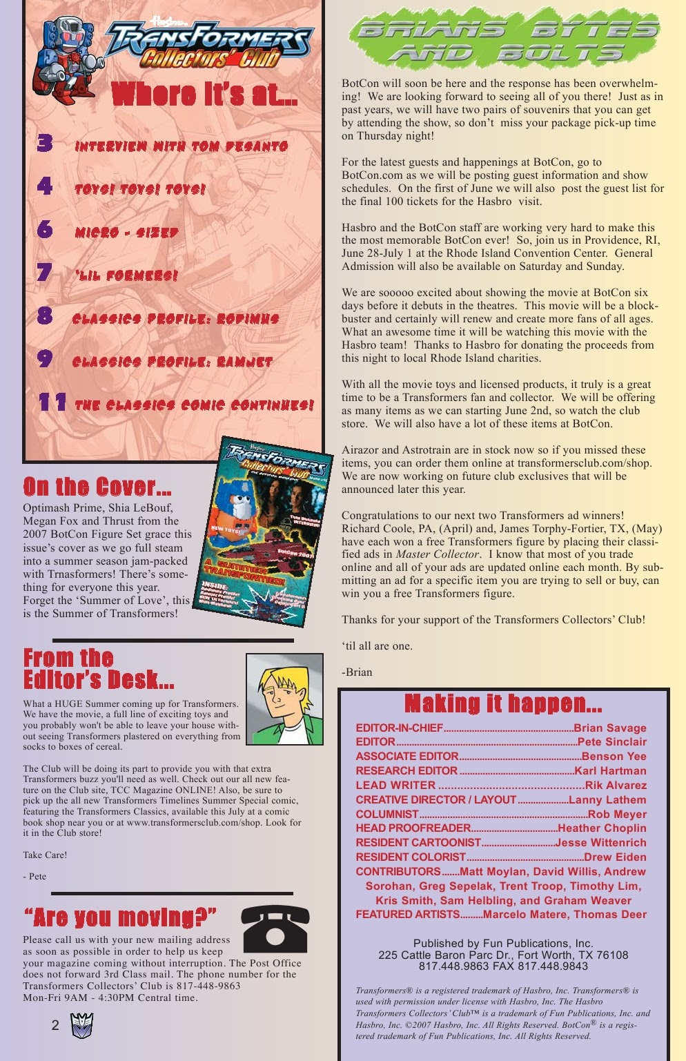 Read online Transformers: Collectors' Club comic -  Issue #15 - 2