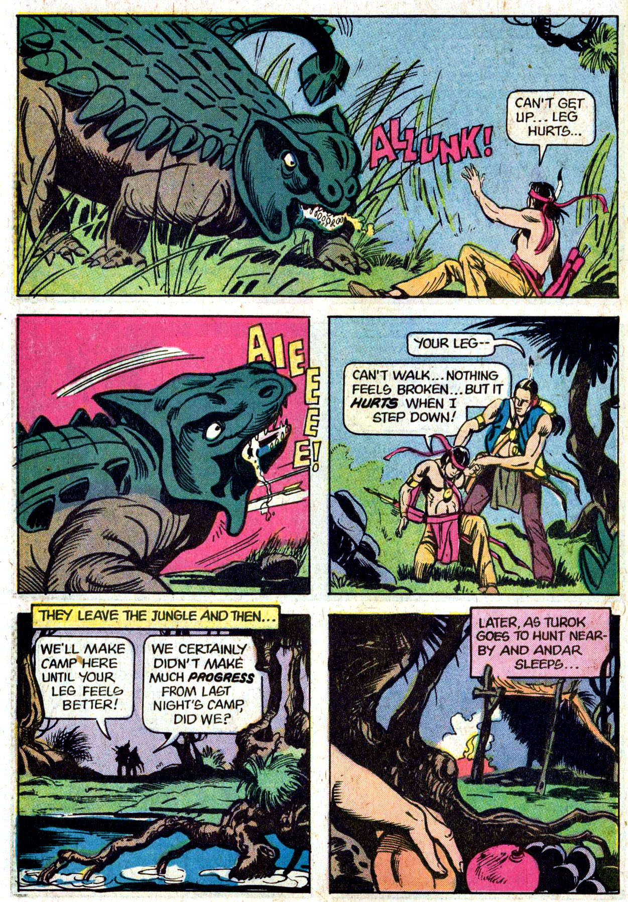 Read online Turok, Son of Stone comic -  Issue #114 - 34