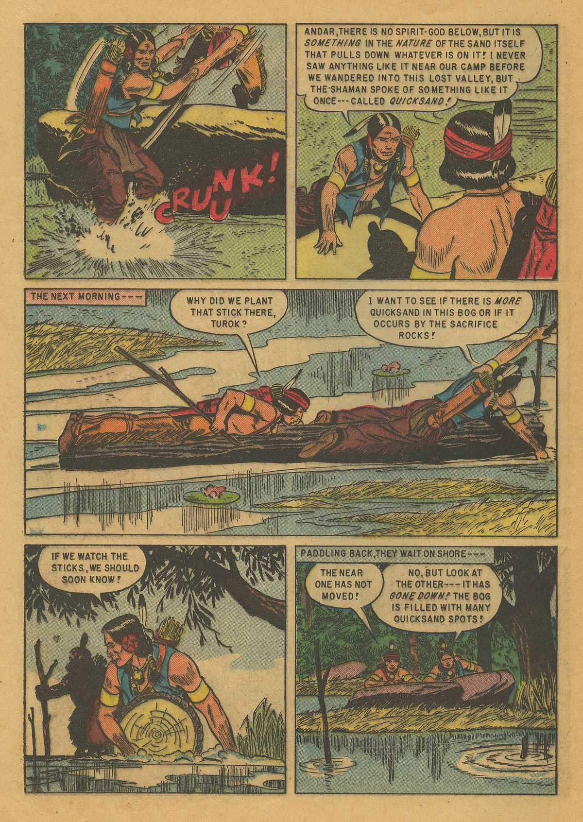 Read online Turok, Son of Stone comic -  Issue #10 - 24