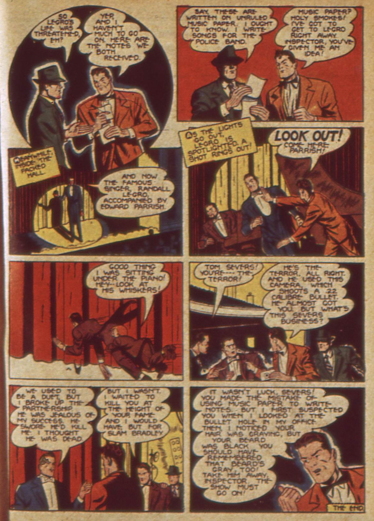 Read online Detective Comics (1937) comic -  Issue #49 - 65