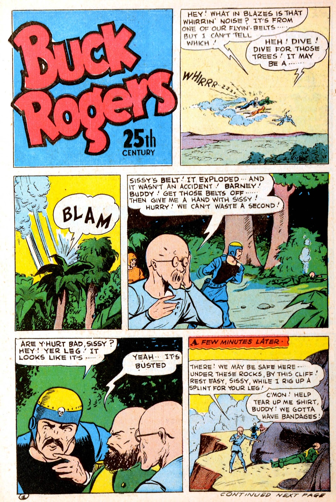 Read online Famous Funnies comic -  Issue #120 - 5