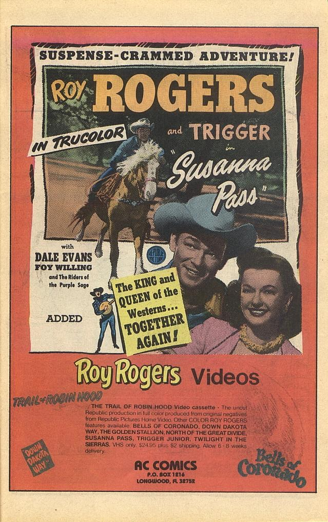 Read online Roy Rogers comic -  Issue #1 - 32
