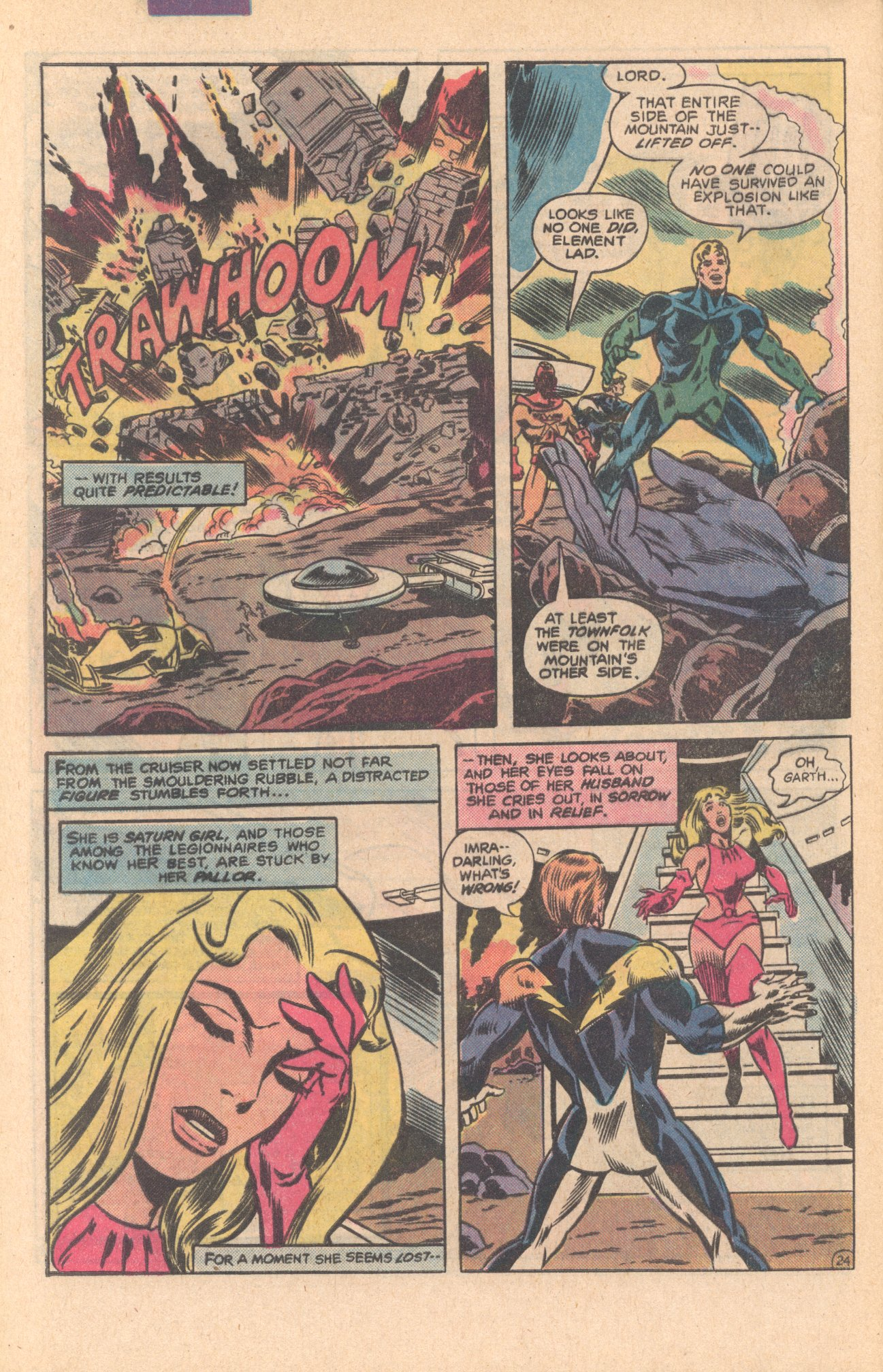 Legion of Super-Heroes (1980) 275 Page 24