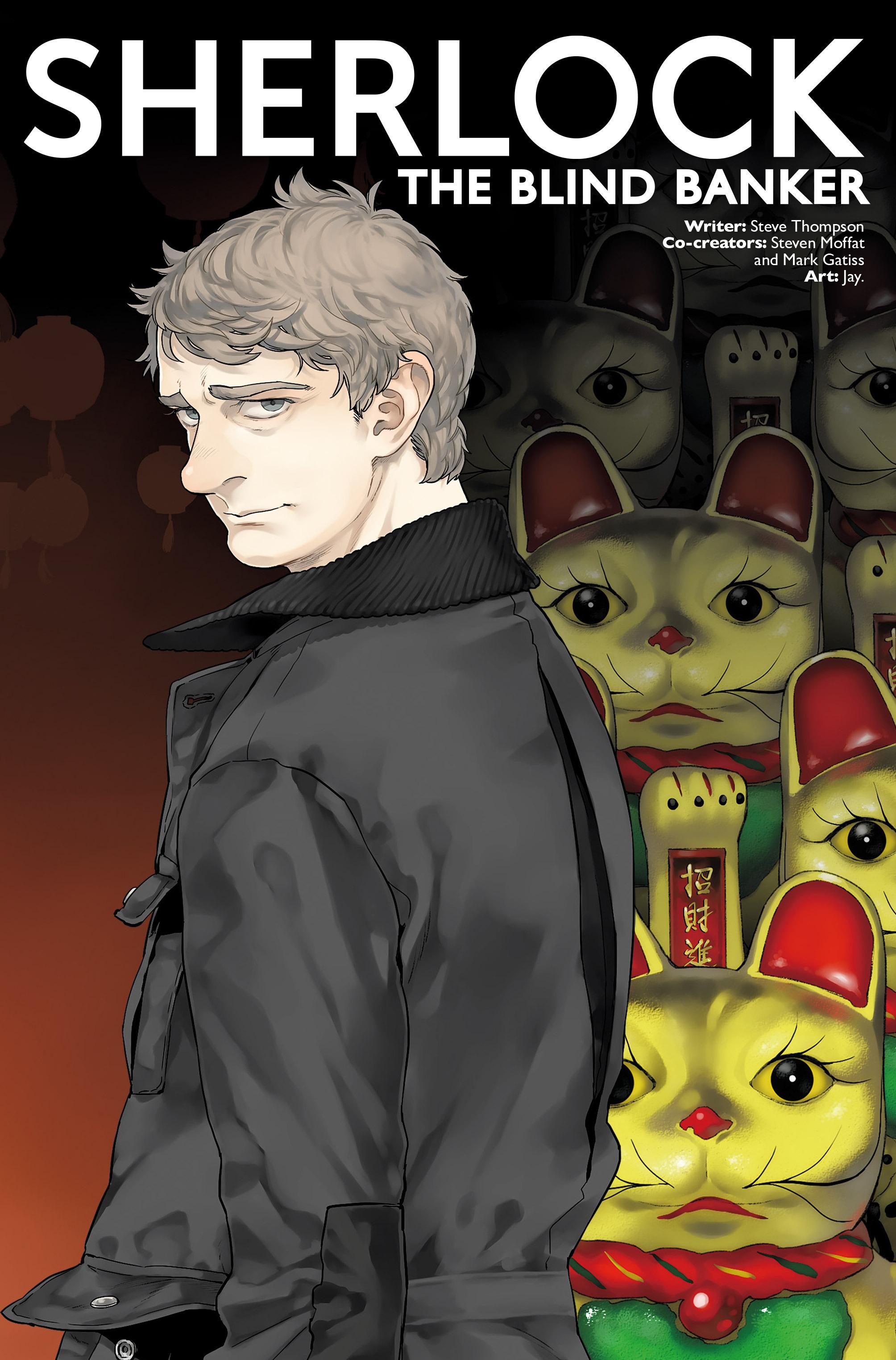 Read online Sherlock: The Blind Banker comic -  Issue #2 - 3