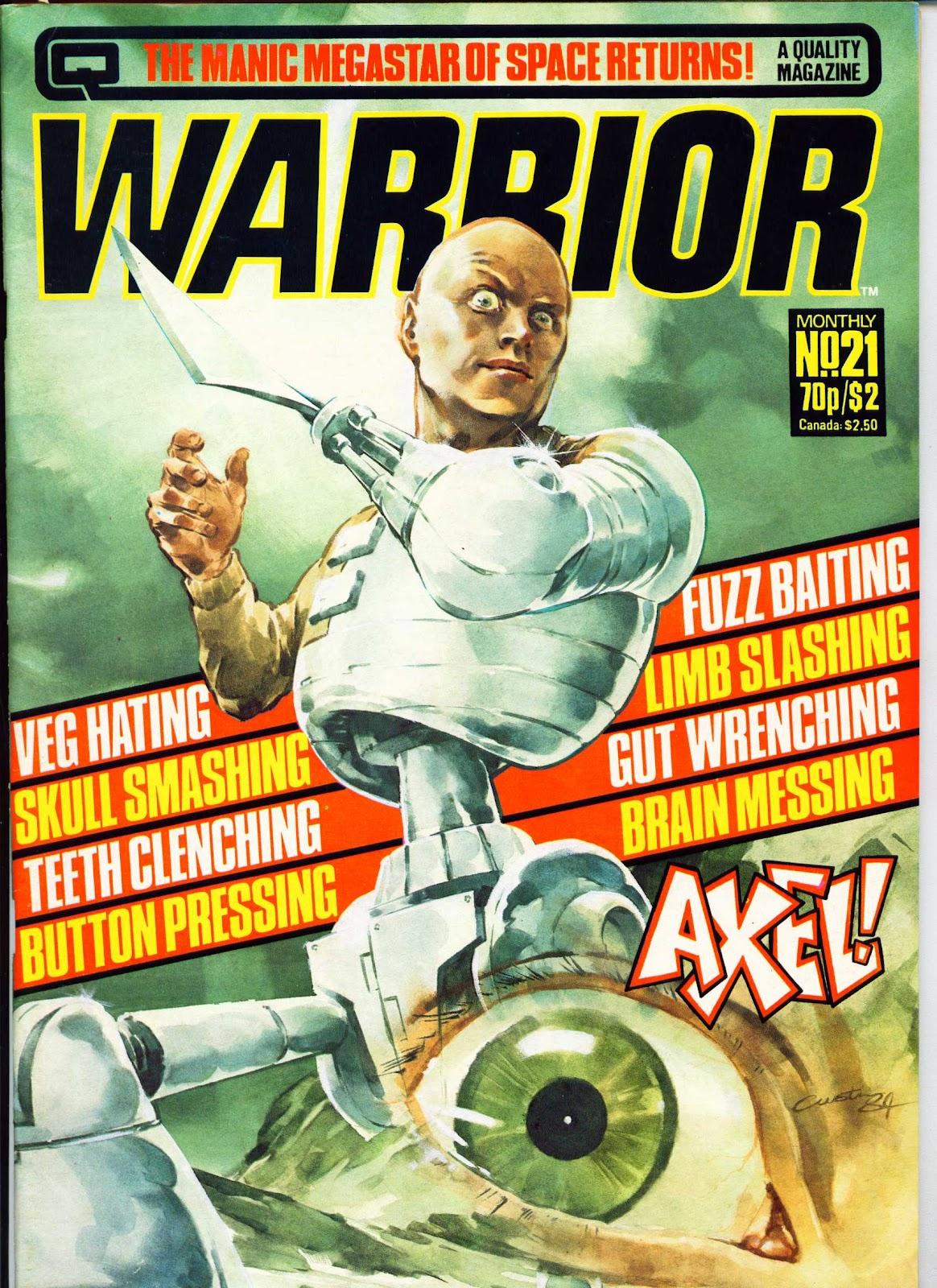 Warrior Issue #21 #22 - English 1
