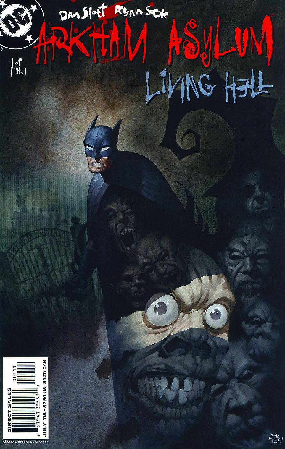 Read online Arkham Asylum: Living Hell comic -  Issue #1 - 2