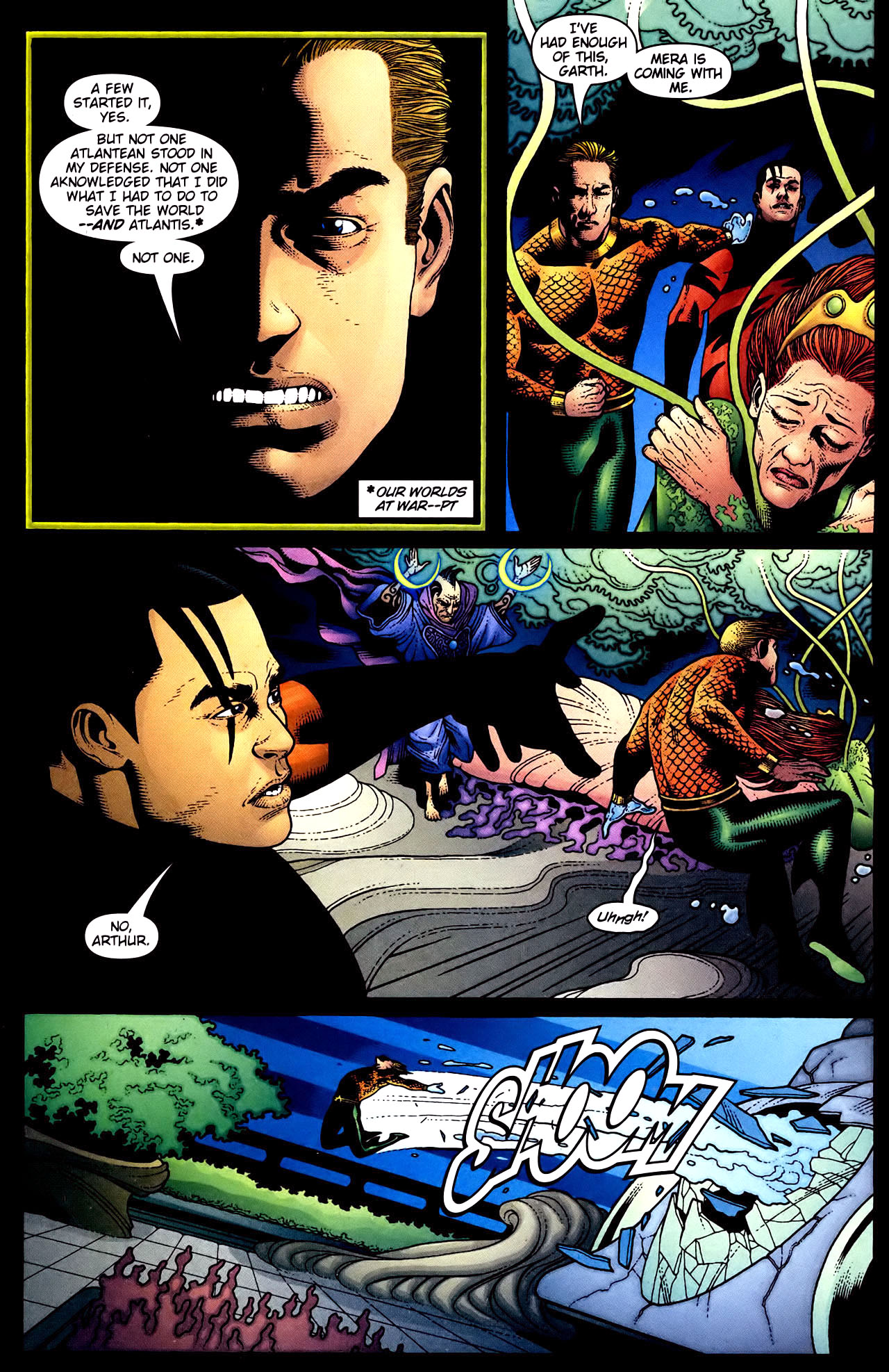 Read online Aquaman (2003) comic -  Issue #34 - 10