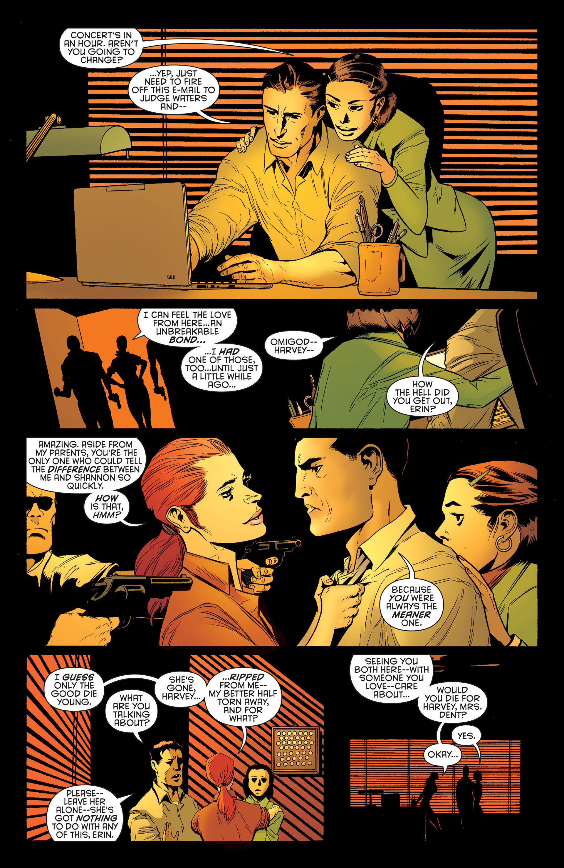 Read online Batman and Robin (2011) comic -  Issue #25 - Batman and Two-Face - 11
