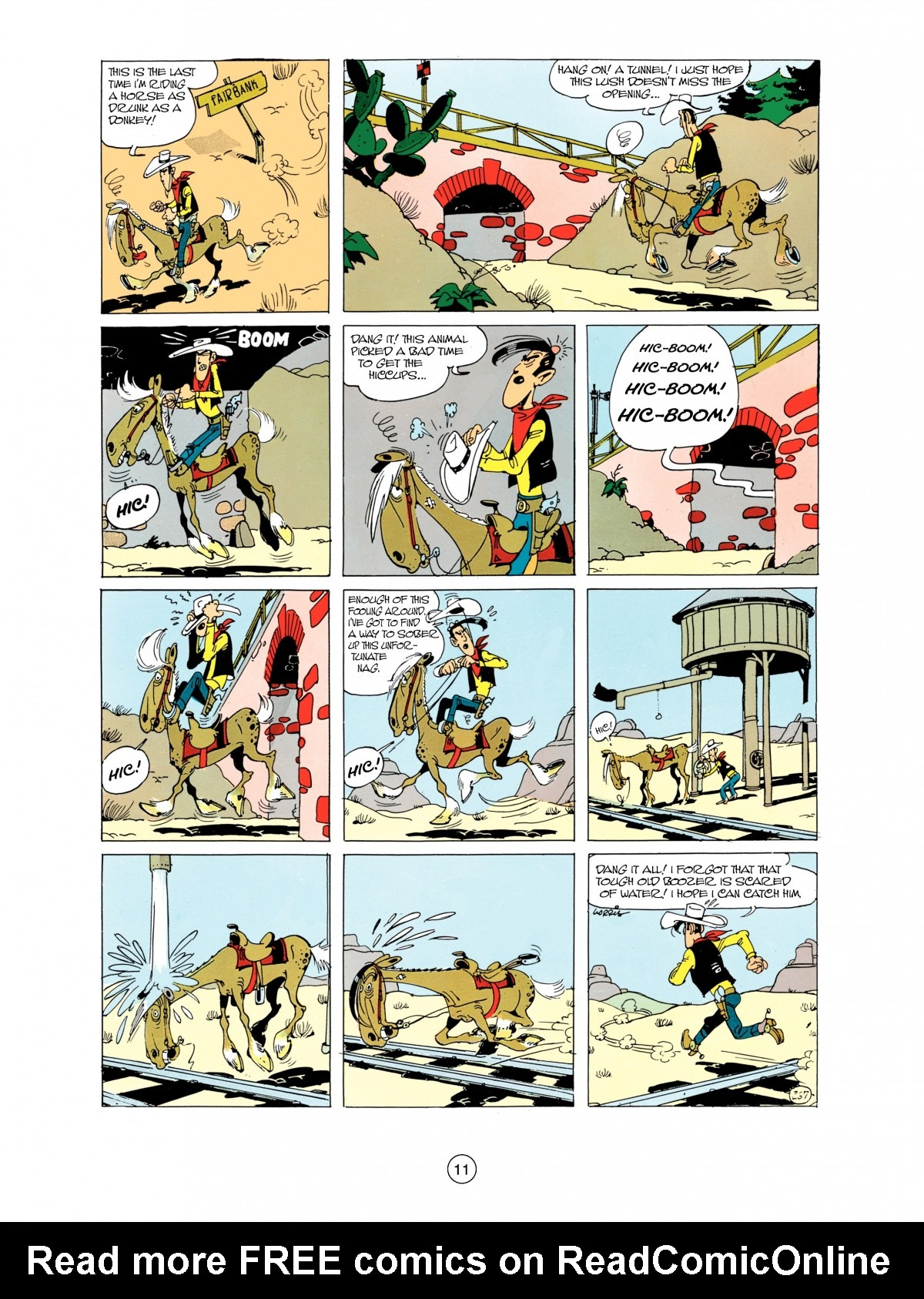 Read online A Lucky Luke Adventure comic -  Issue #38 - 11