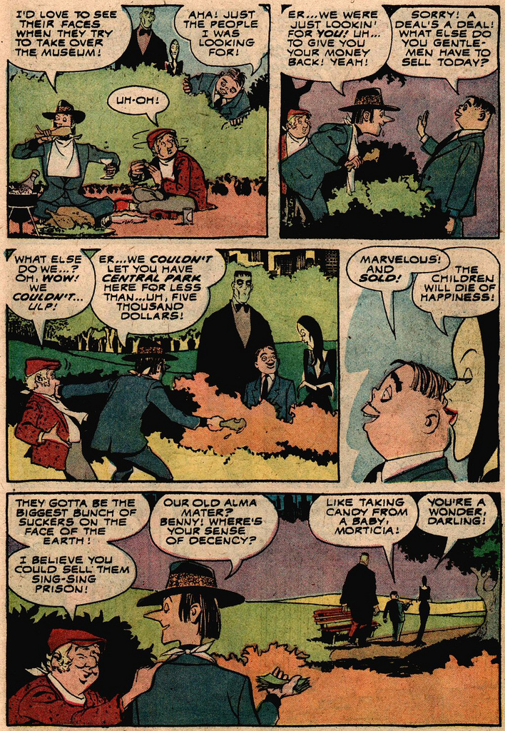 Read online Addams Family comic -  Issue #2 - 14