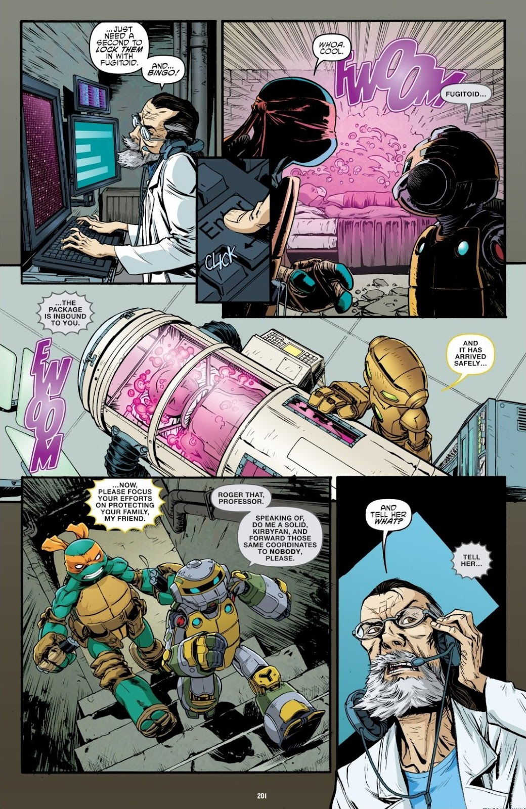 Read online Teenage Mutant Ninja Turtles: The IDW Collection comic -  Issue # TPB 6 (Part 2) - 98