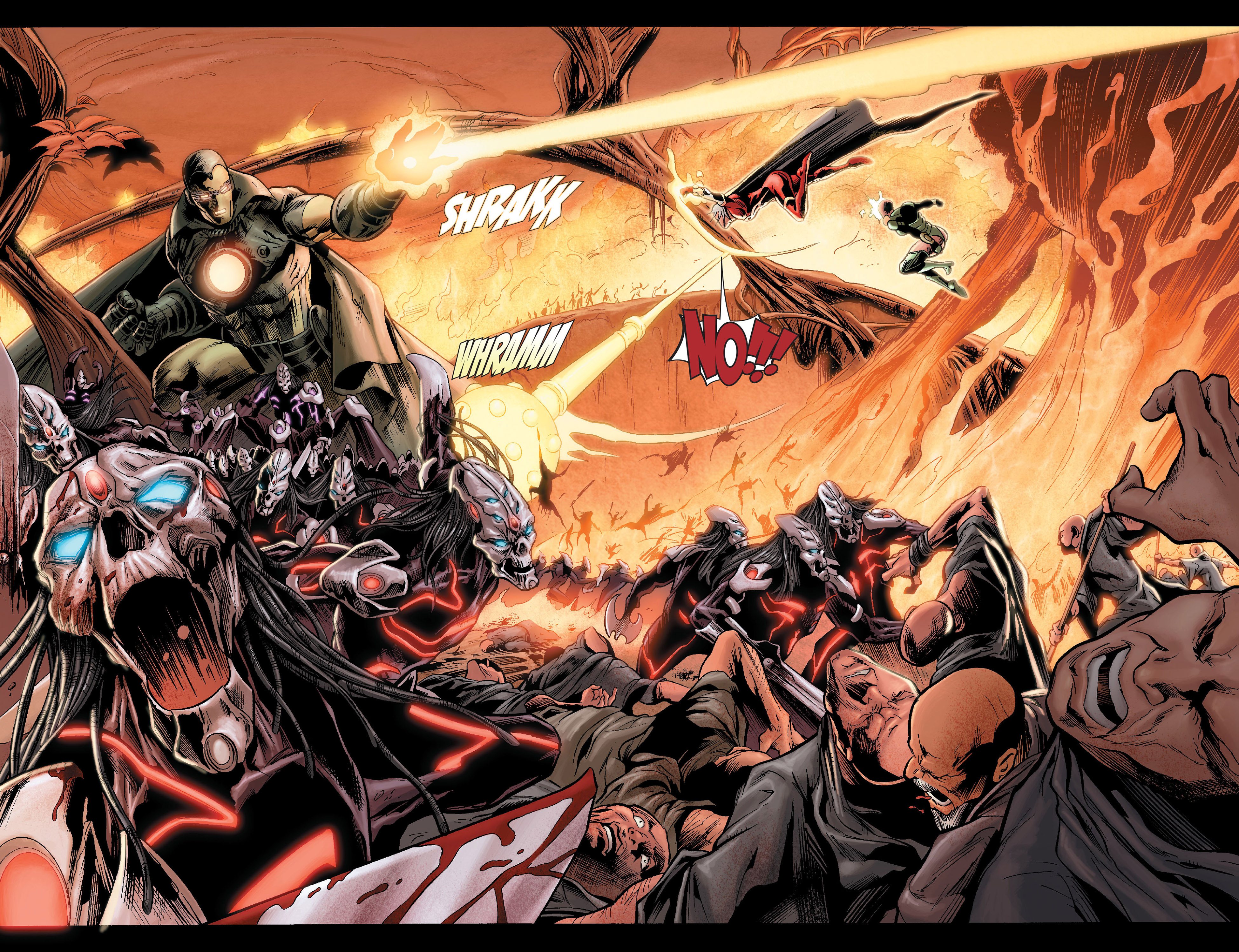Read online Annihilation: Conquest - Quasar comic -  Issue #1 - 19