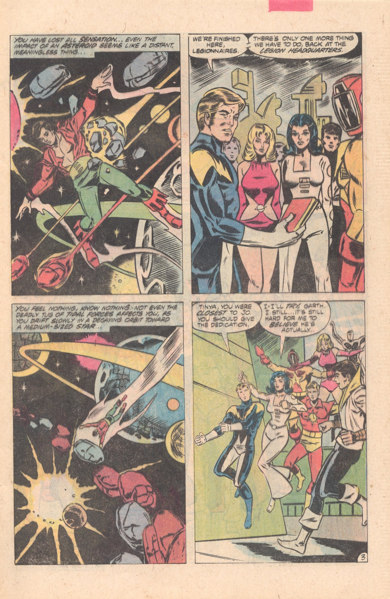 Legion of Super-Heroes (1980) 274 Page 3