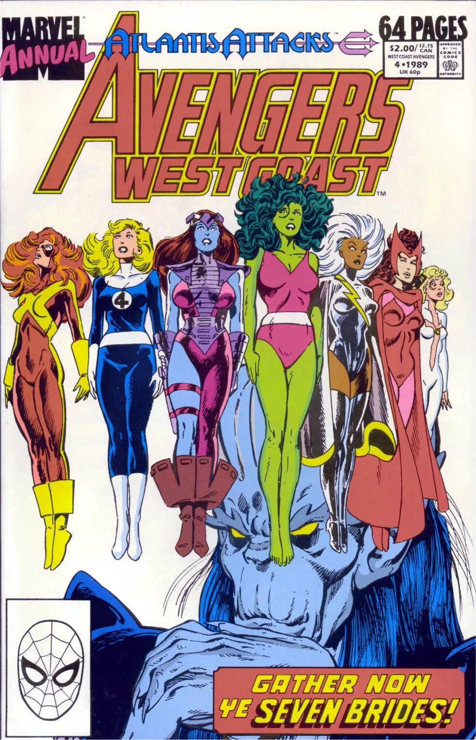 West Coast Avengers (1985) _Annual_4 Page 1