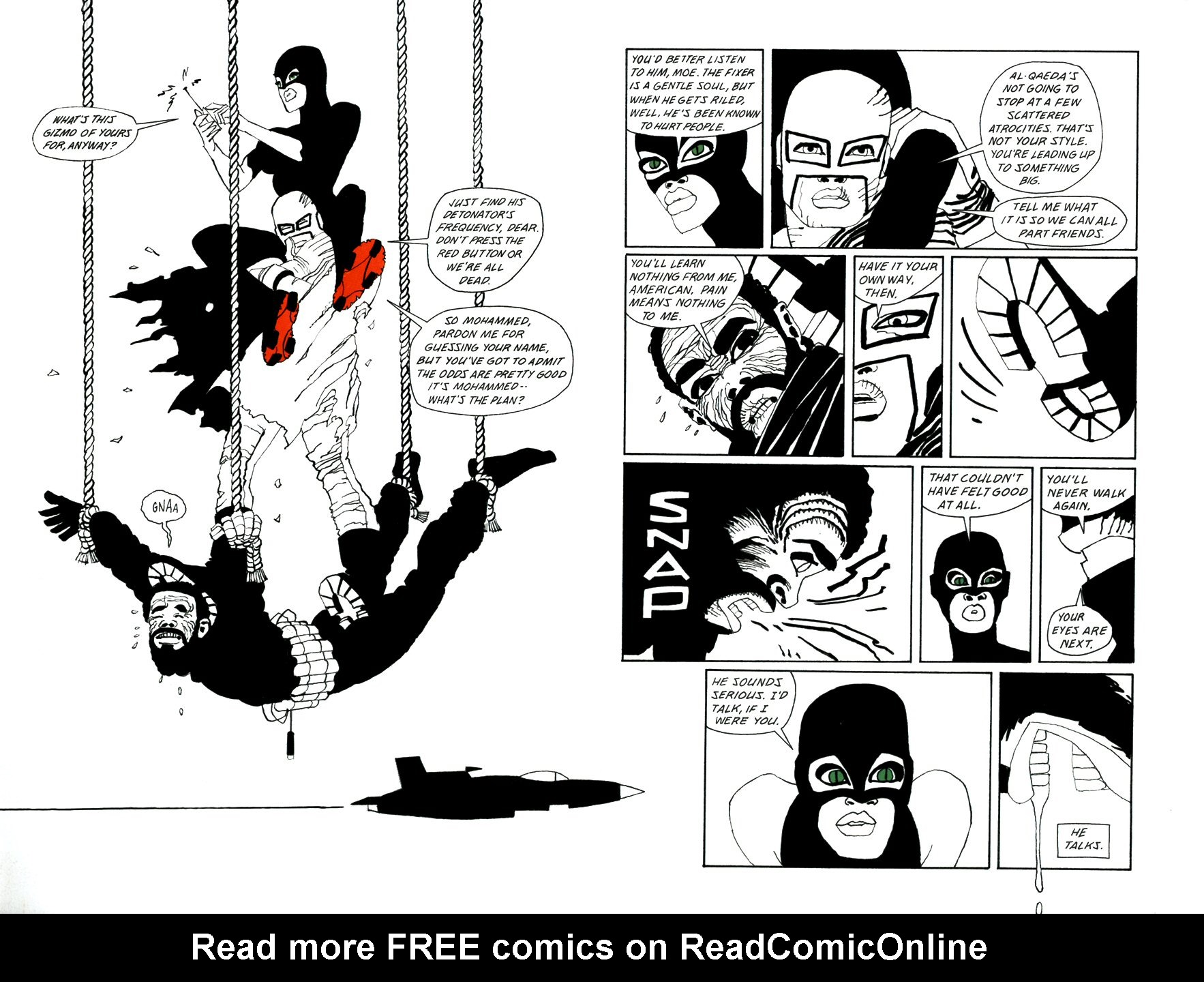 Read online Frank Miller's Holy Terror comic -  Issue # TPB - 83