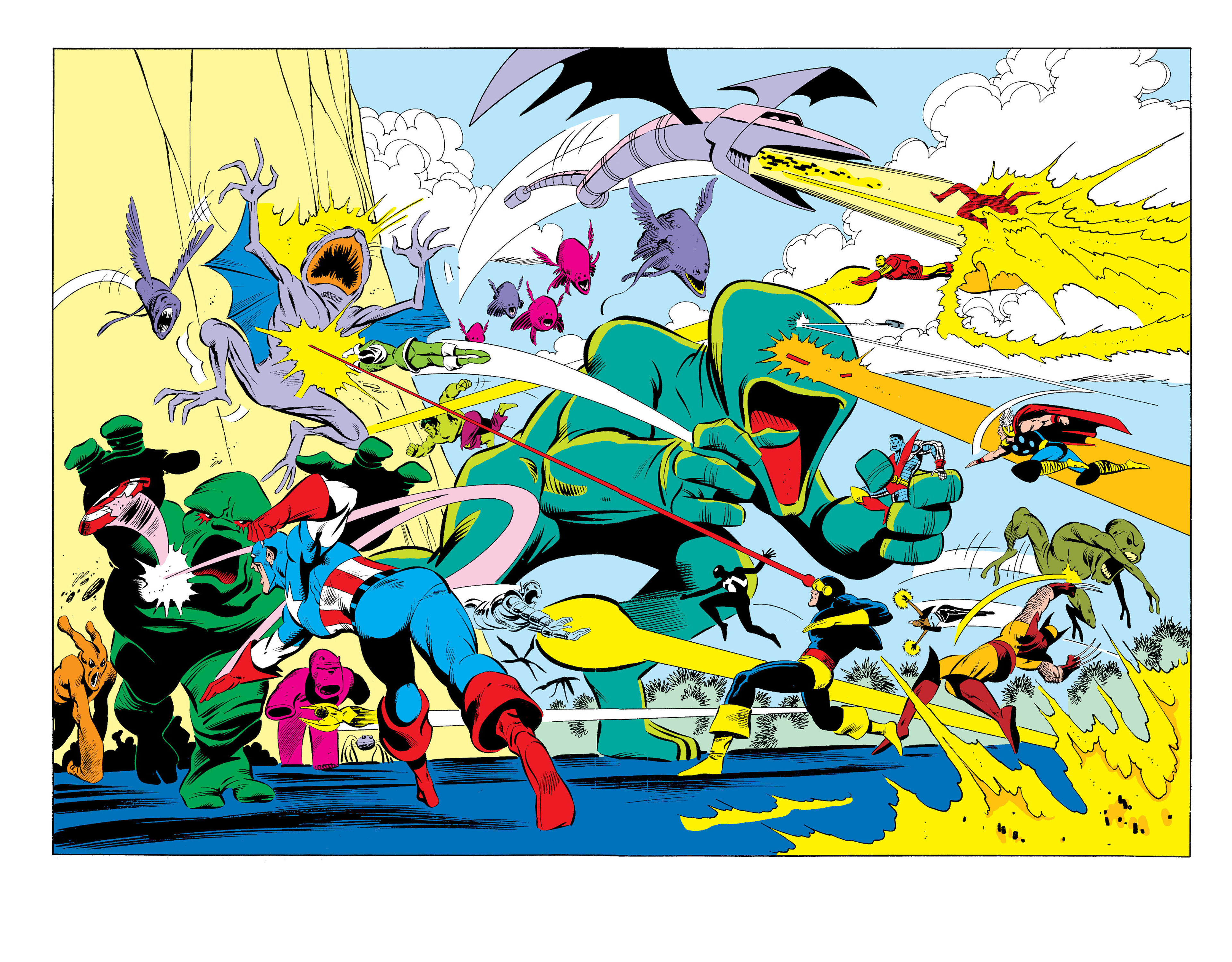 Read online Secret Wars (1985) comic -  Issue #12 - 24