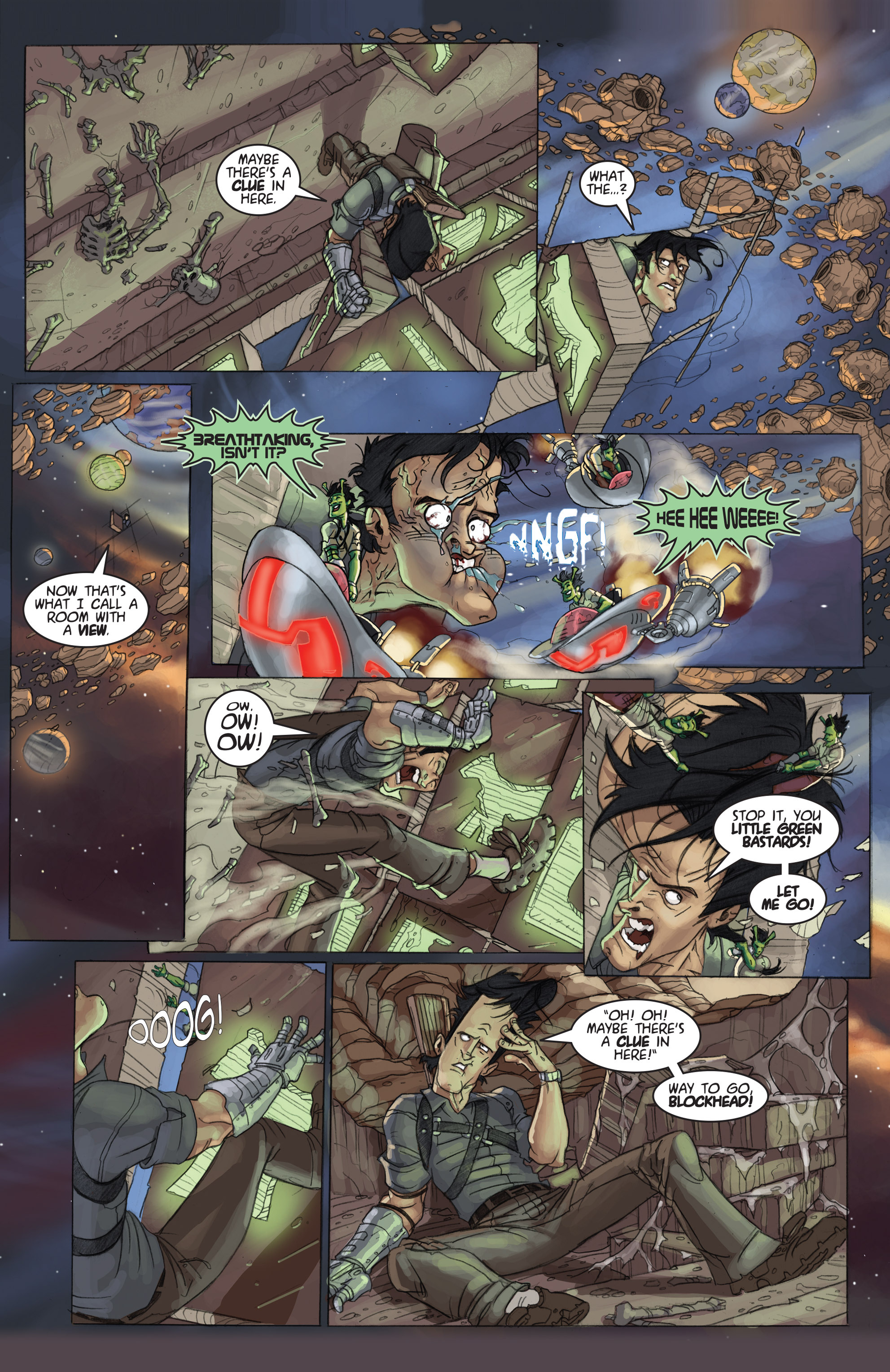 Read online Army of Darkness: Ashes 2 Ashes comic -  Issue #4 - 7