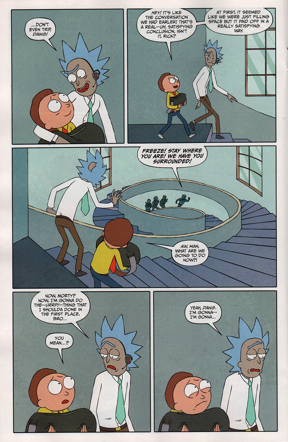 Read online Free Comic Book Day 2017 comic -  Issue # Rick and Morty - 18