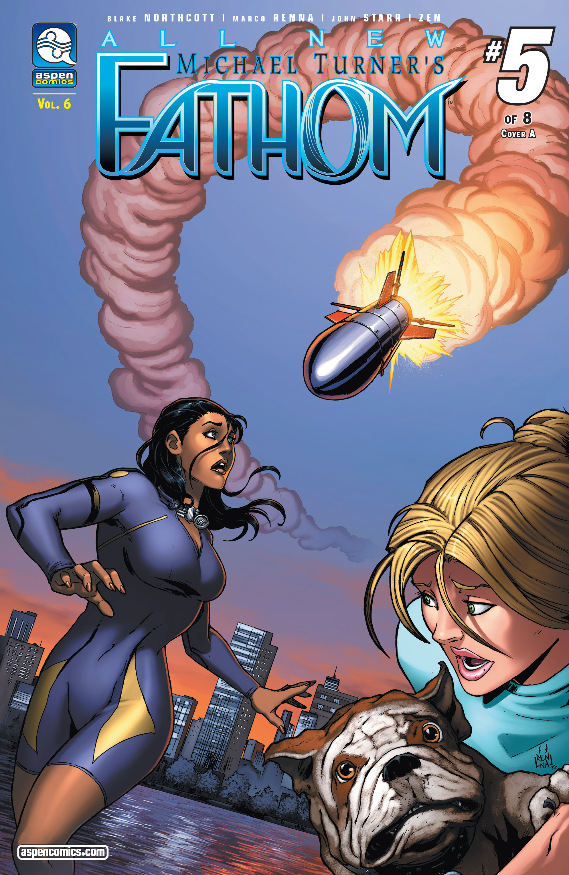 Read online Fathom (2017) comic -  Issue #5 - 1