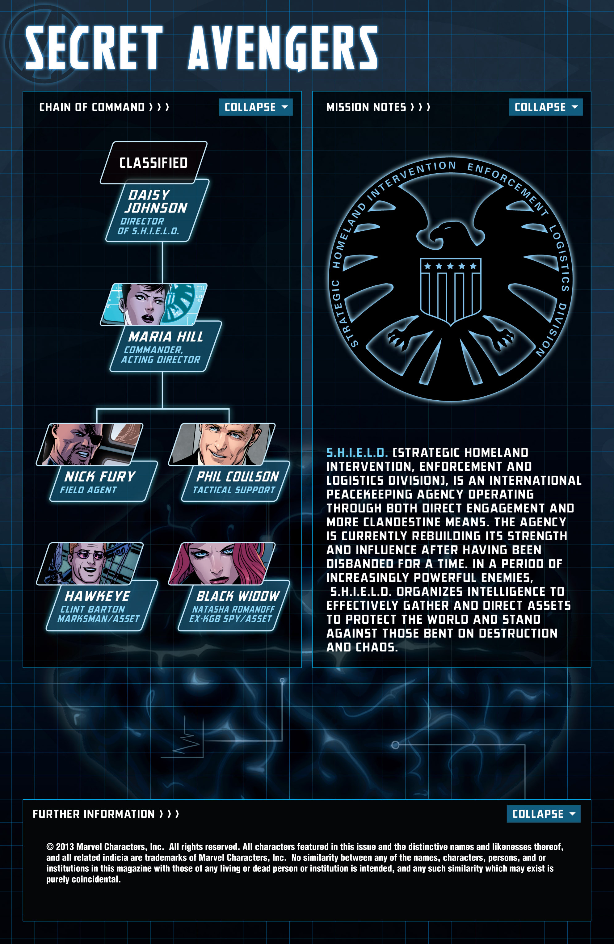 Read online Secret Avengers (2013) comic -  Issue #1 - 2