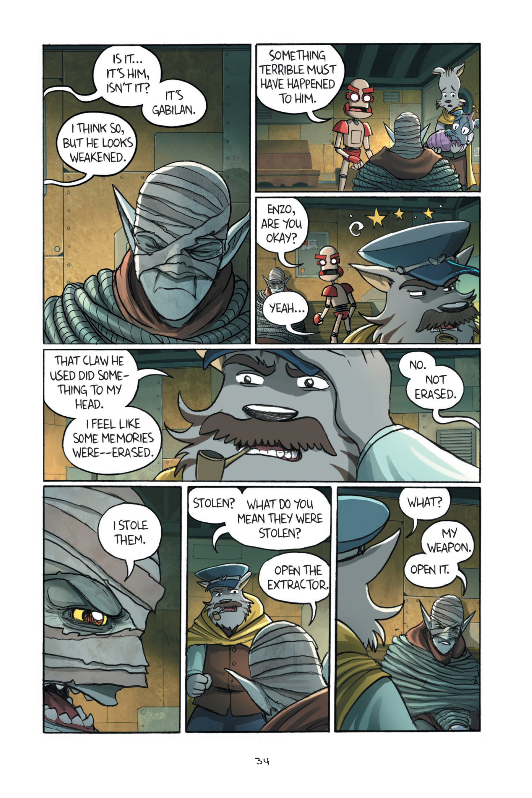 Read online Amulet comic -  Issue #7 - 37