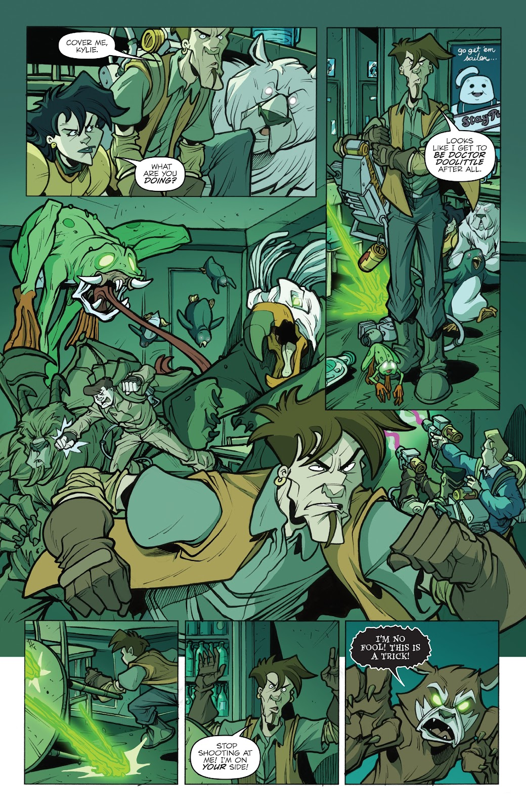 Read online Ghostbusters 35th Anniversary: Extreme comic -  Issue # Full - 20